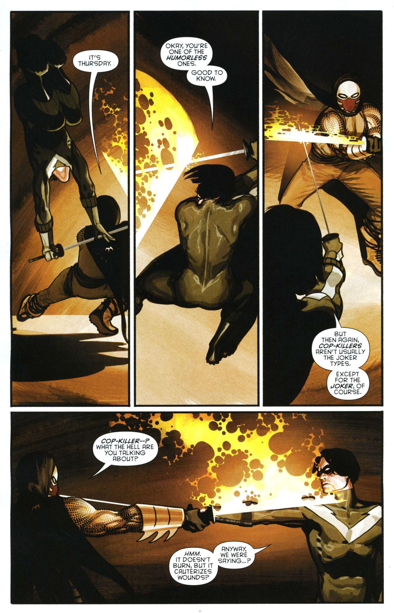 Read online Azrael: Death's Dark Knight comic -  Issue #3 - 5