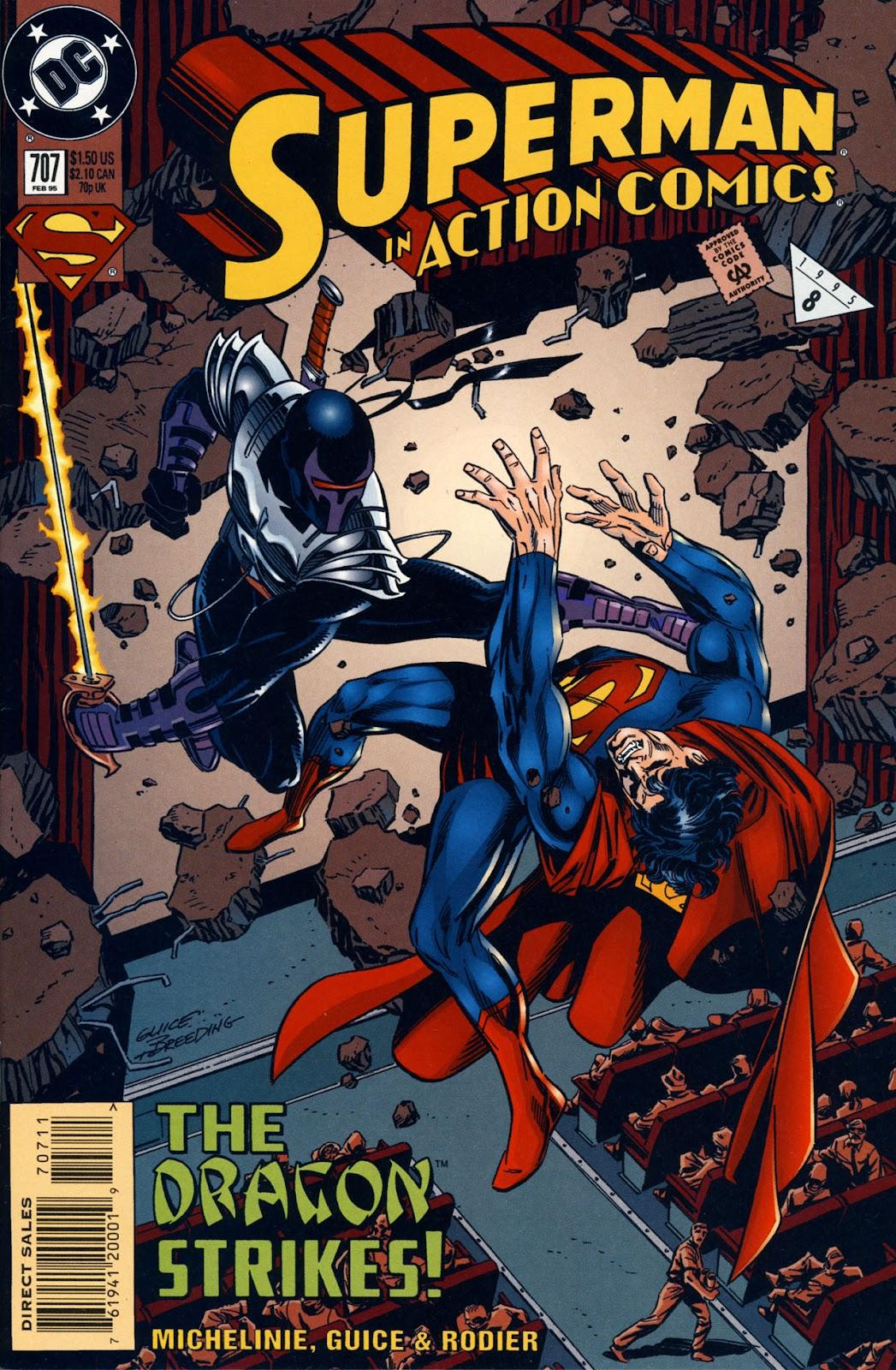 Action Comics (1938) 707 Page 1