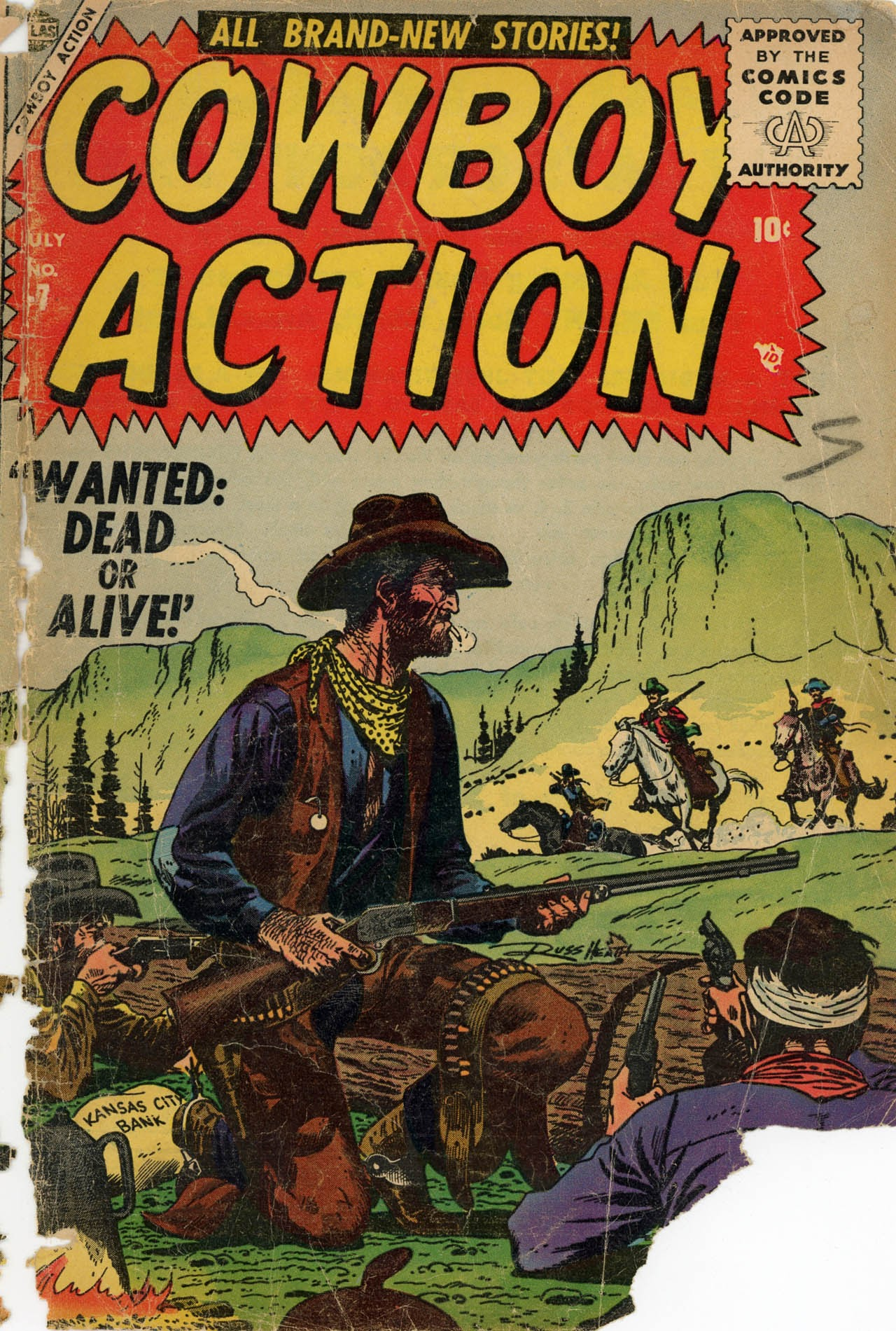 Cowboy Action 7 Page 1
