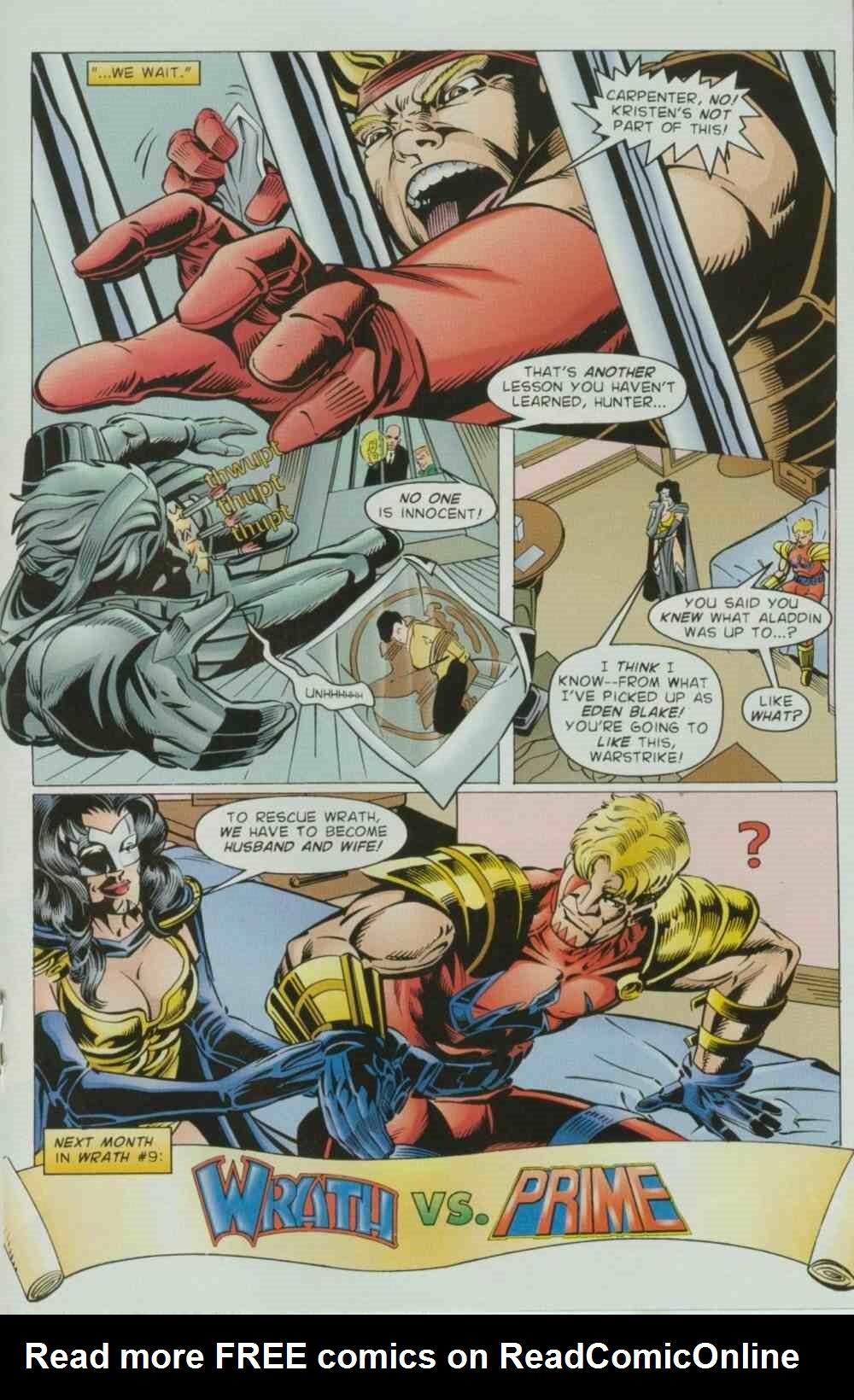 Read online Ultraverse Premiere comic -  Issue #8 - 35