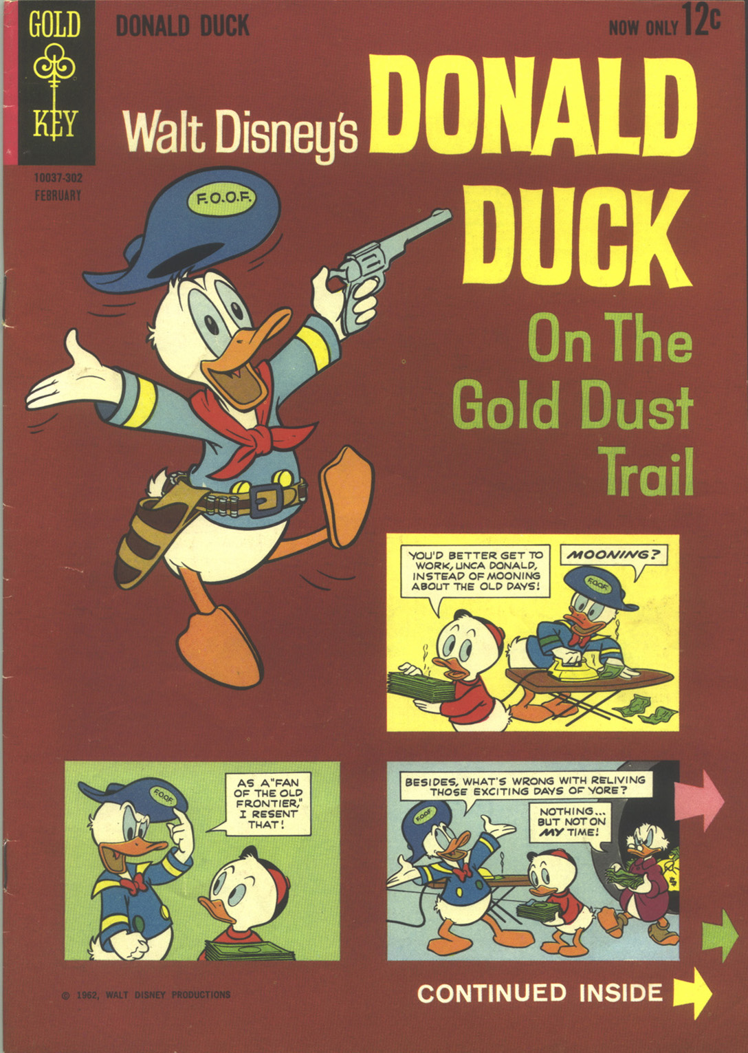 Walt Disney's Donald Duck (1952) issue 86 - Page 1