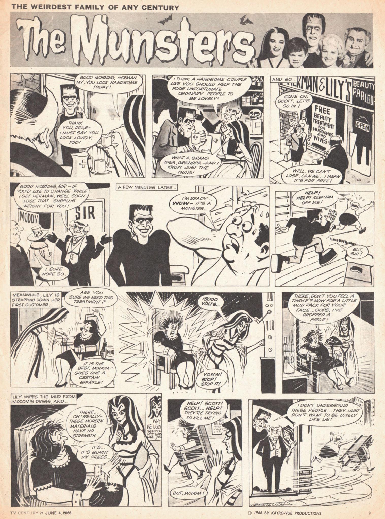 Read online TV Century 21 (TV 21) comic -  Issue #72 - 9