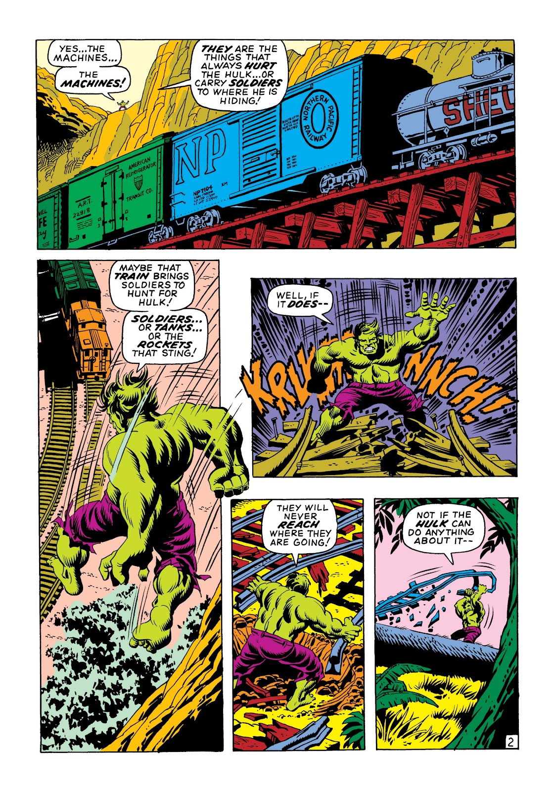 Read online Marvel Masterworks: The Incredible Hulk comic -  Issue # TPB 6 (Part 1) - 11