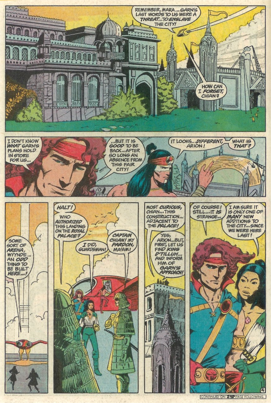 Read online Arion, Lord of Atlantis comic -  Issue #23 - 5