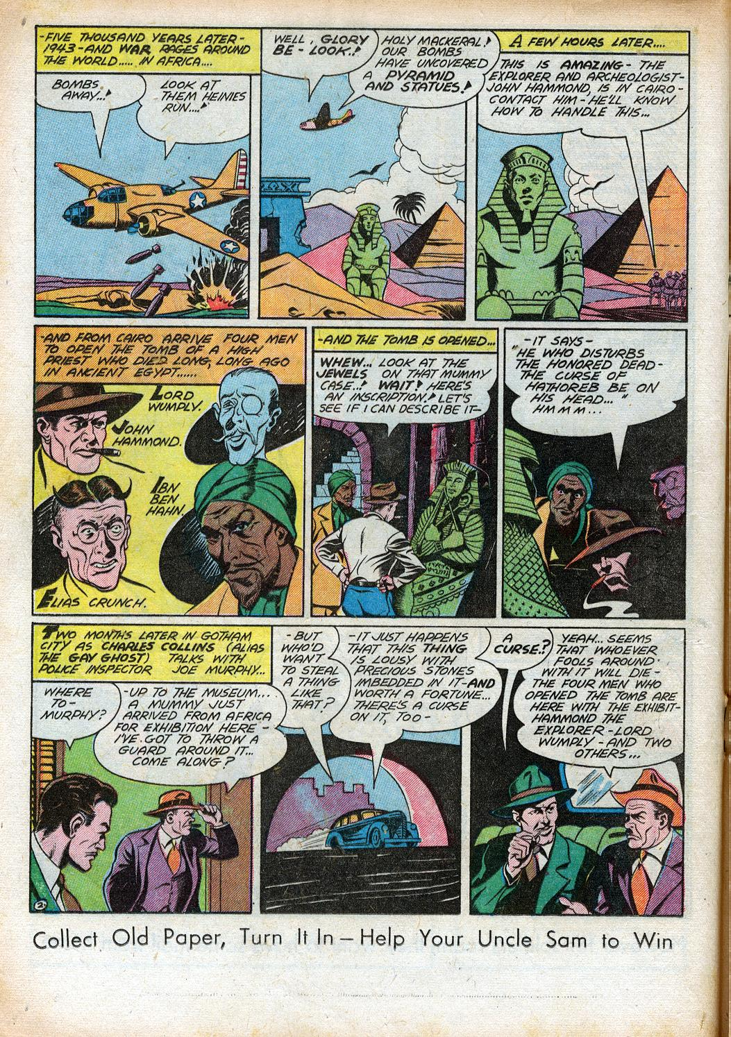 Read online Sensation (Mystery) Comics comic -  Issue #33 - 24