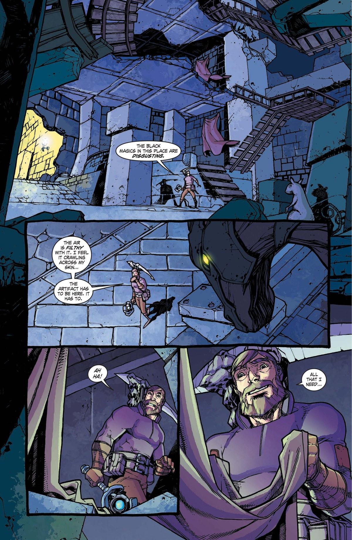 Read online World of Warcraft: Dark Riders comic -  Issue # Full - 108