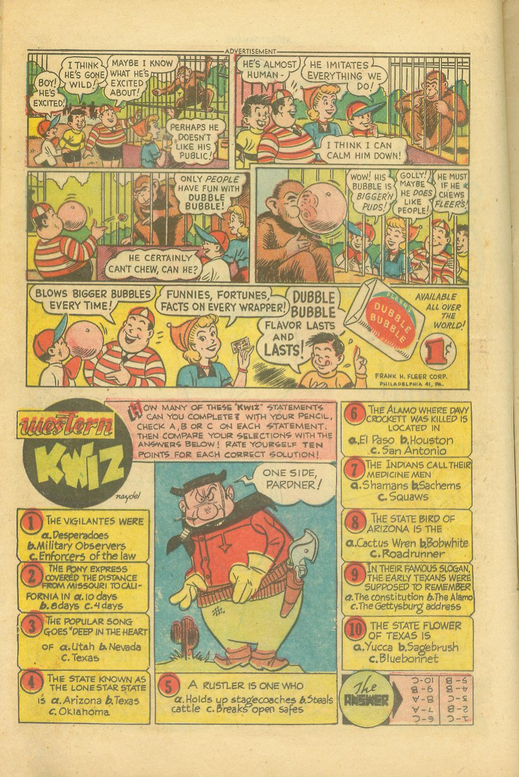 Read online All-Star Western (1951) comic -  Issue #65 - 12