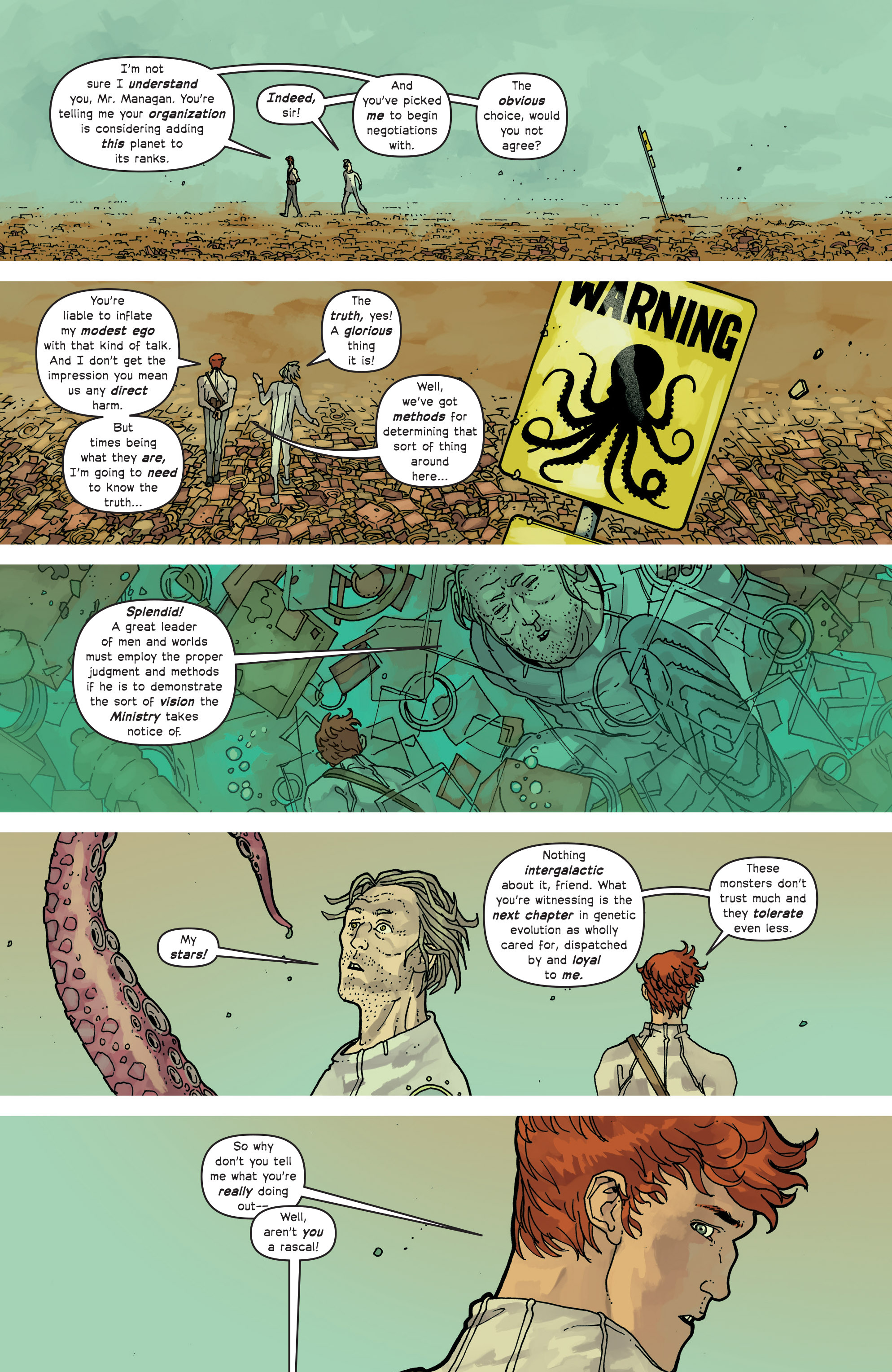 Read online Great Pacific comic -  Issue #13 - 15