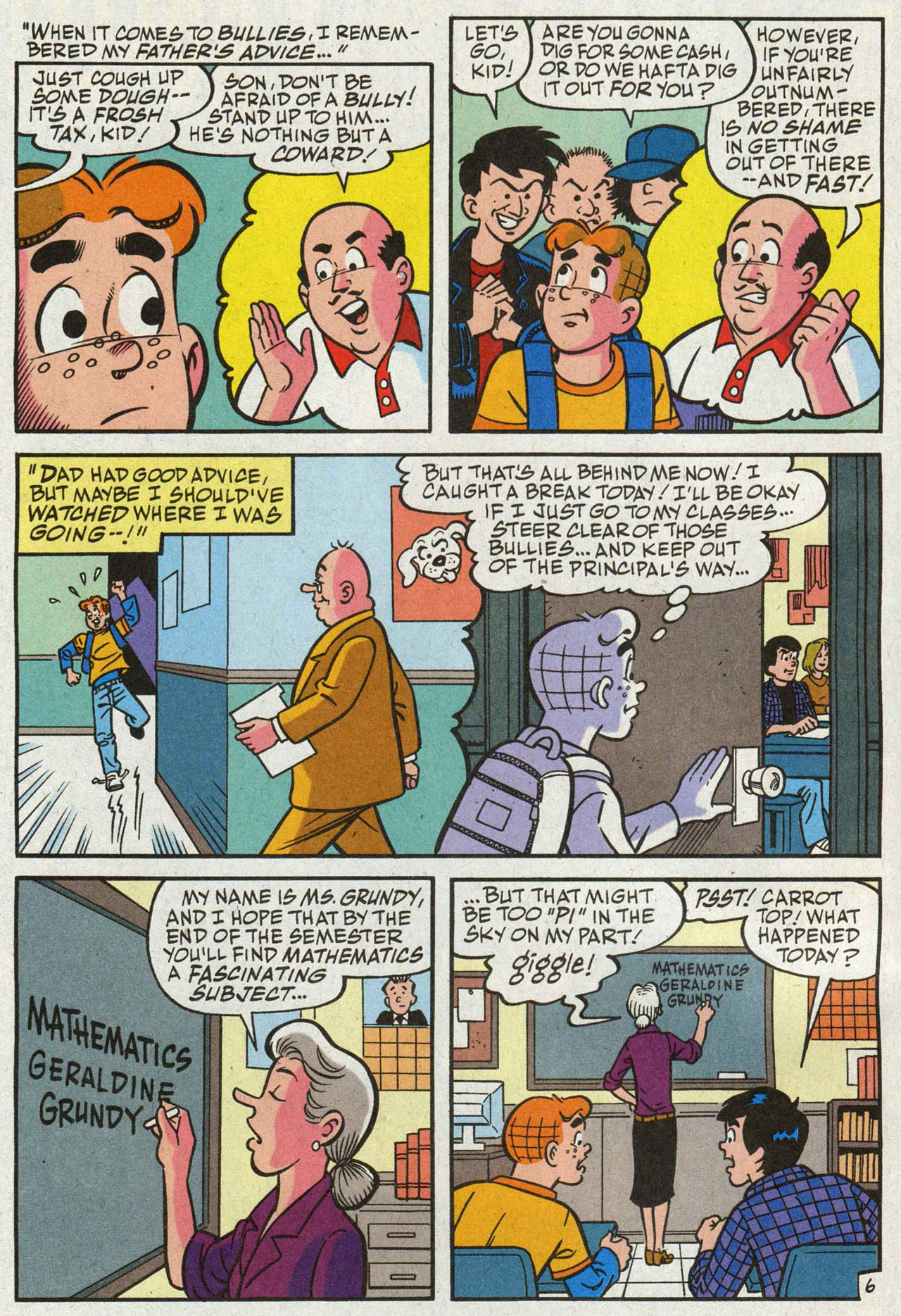Read online Archie (1960) comic -  Issue #588 - 7