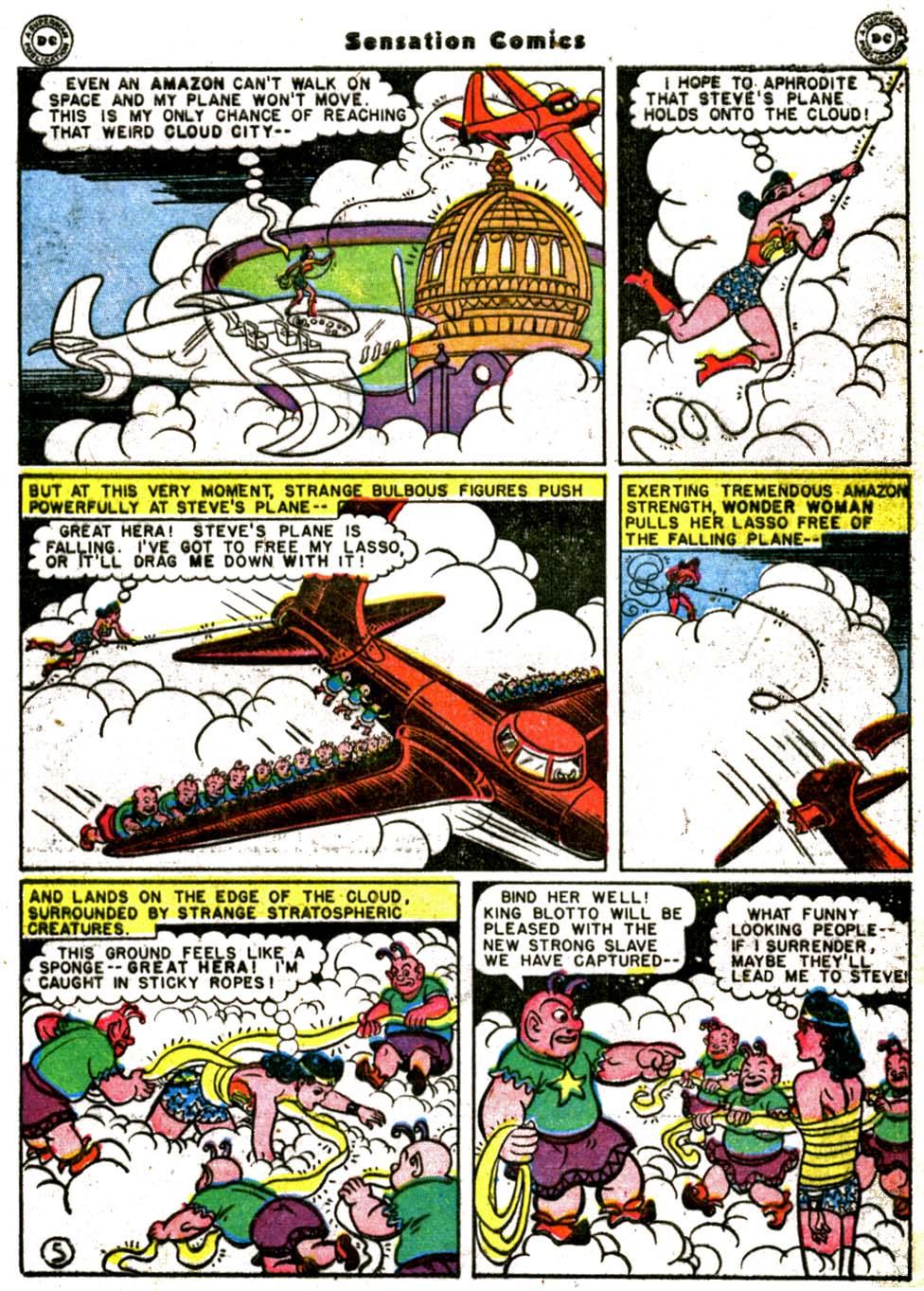 Read online Sensation (Mystery) Comics comic -  Issue #64 - 7