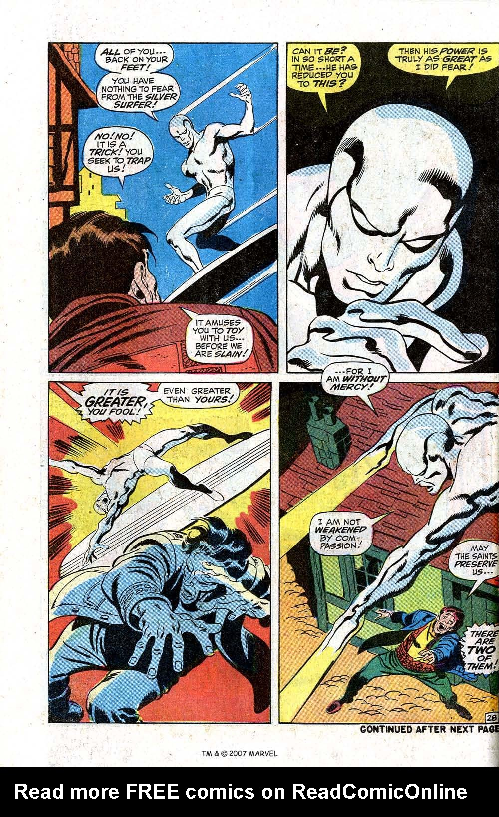 Read online Silver Surfer (1968) comic -  Issue #7 - 34