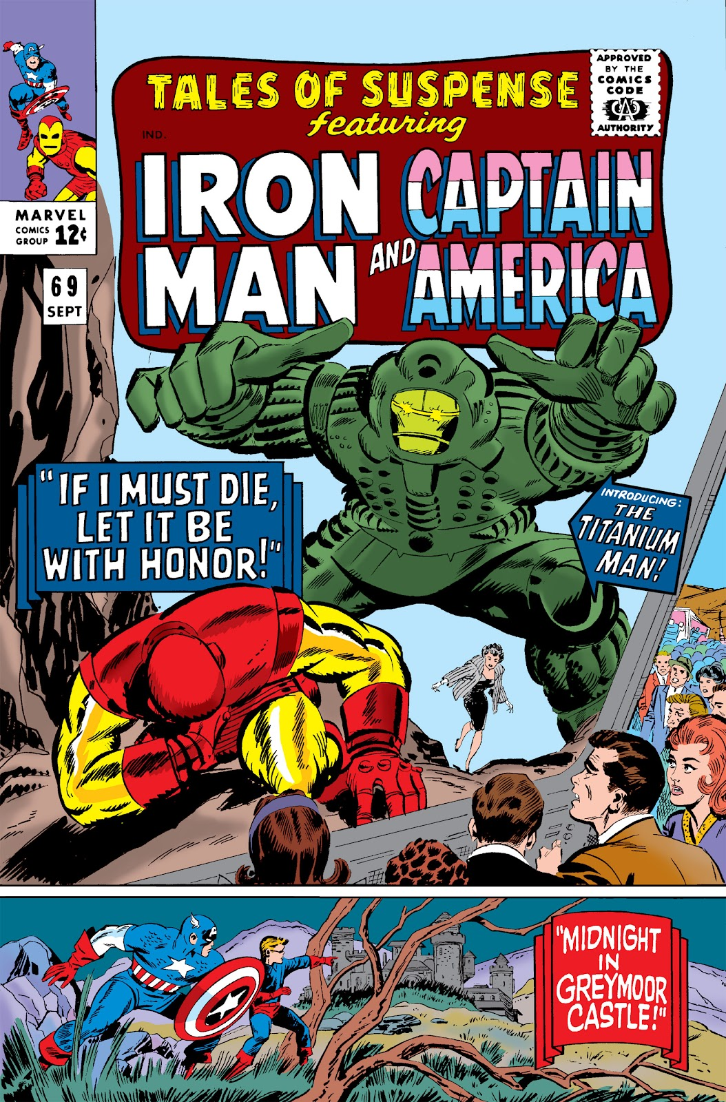 Read online Marvel Masterworks: The Invincible Iron Man comic -  Issue # TPB 3 (Part 1) - 72