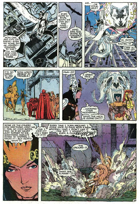 Read online Uncanny X-Men (1963) comic -  Issue # _Annual 9 - 31