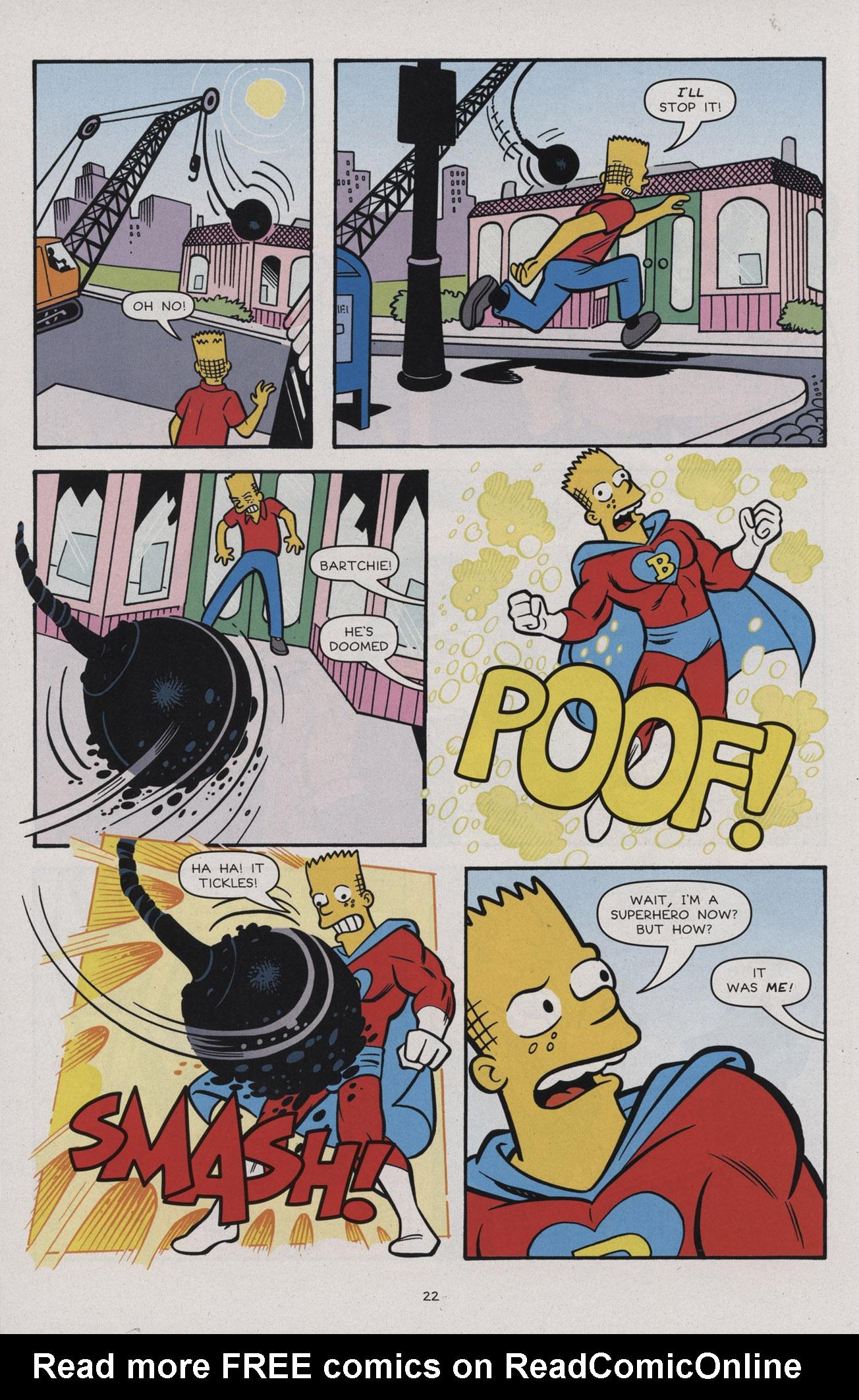 Read online Simpsons Comics comic -  Issue #183 - 24