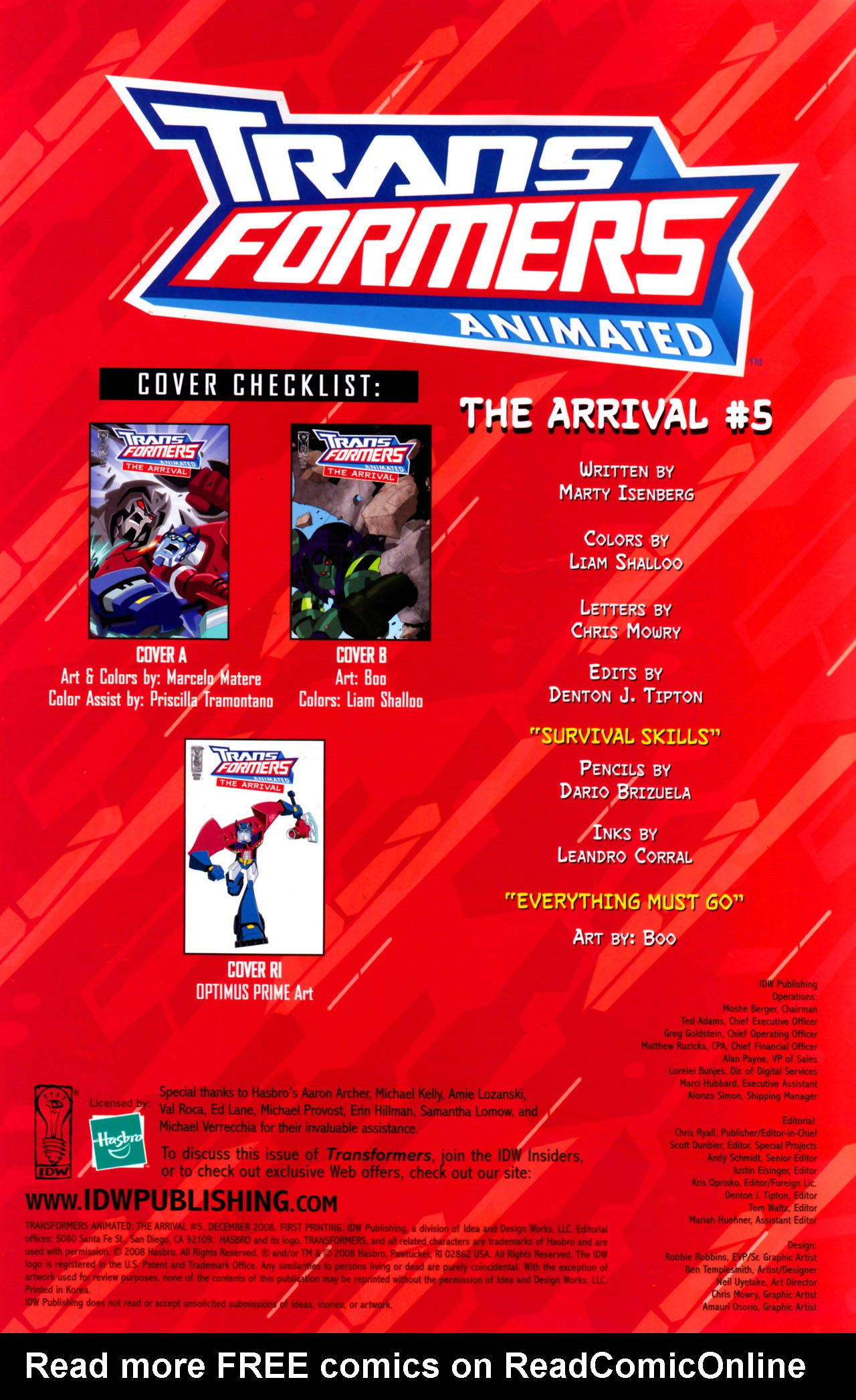 Read online Transformers Animated: The Arrival comic -  Issue #5 - 4