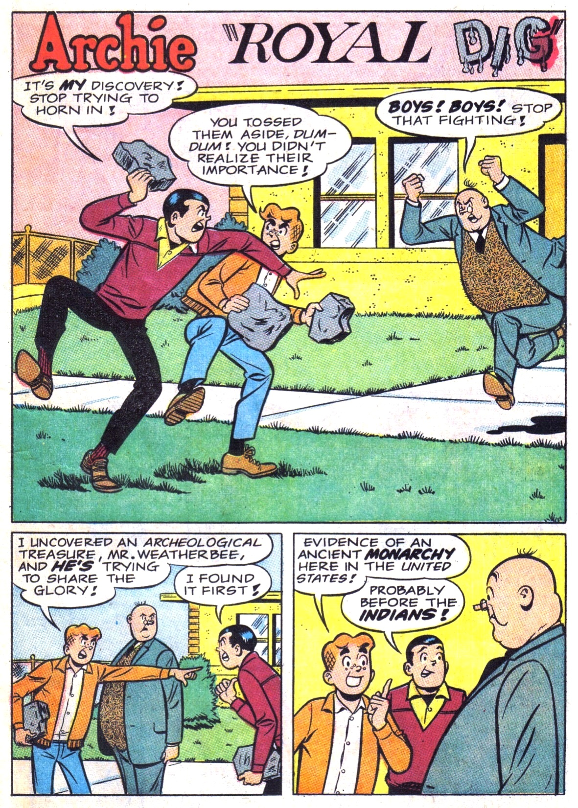 Read online Archie (1960) comic -  Issue #181 - 13