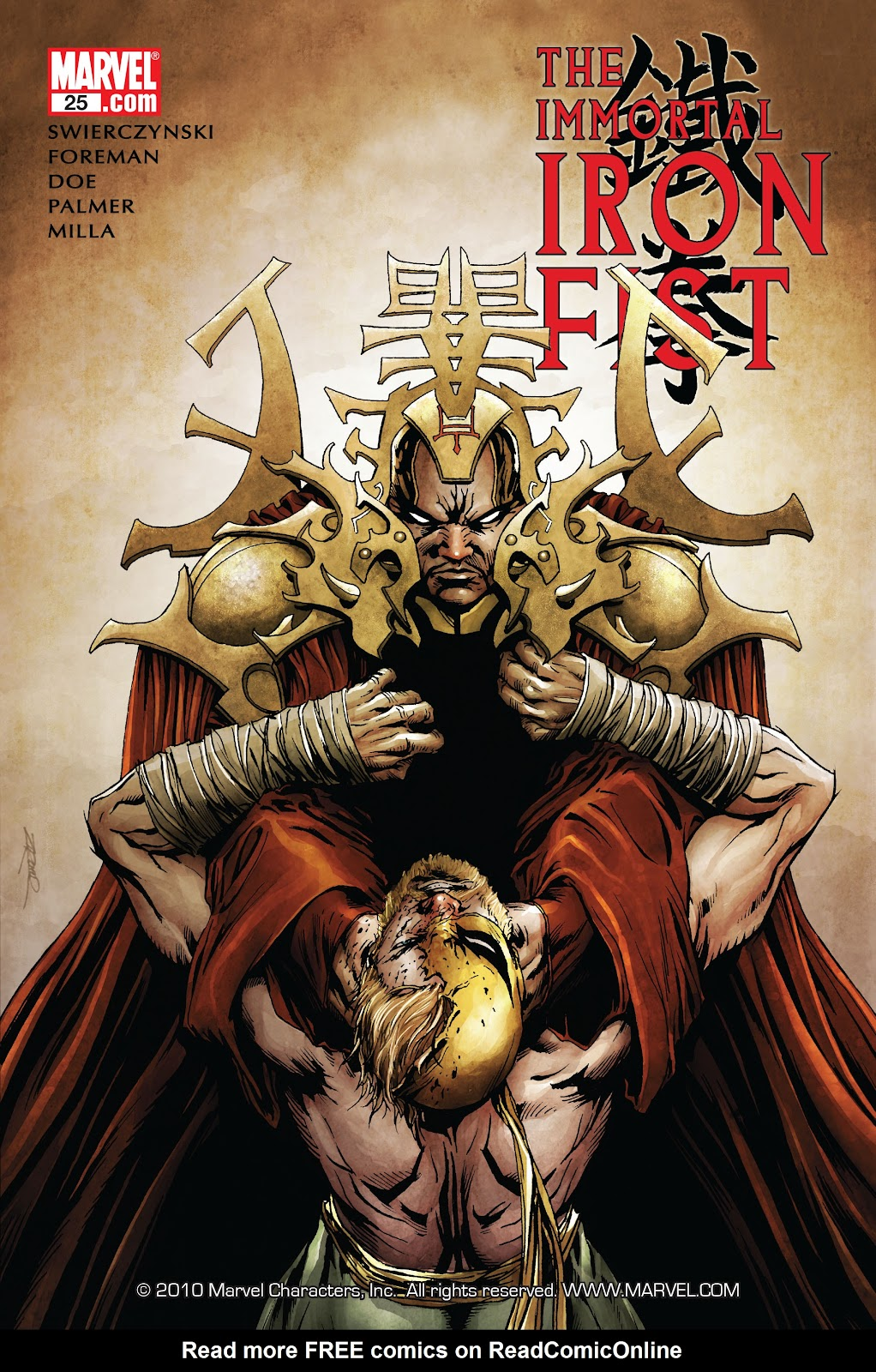 The Immortal Iron Fist issue 25 - Page 1