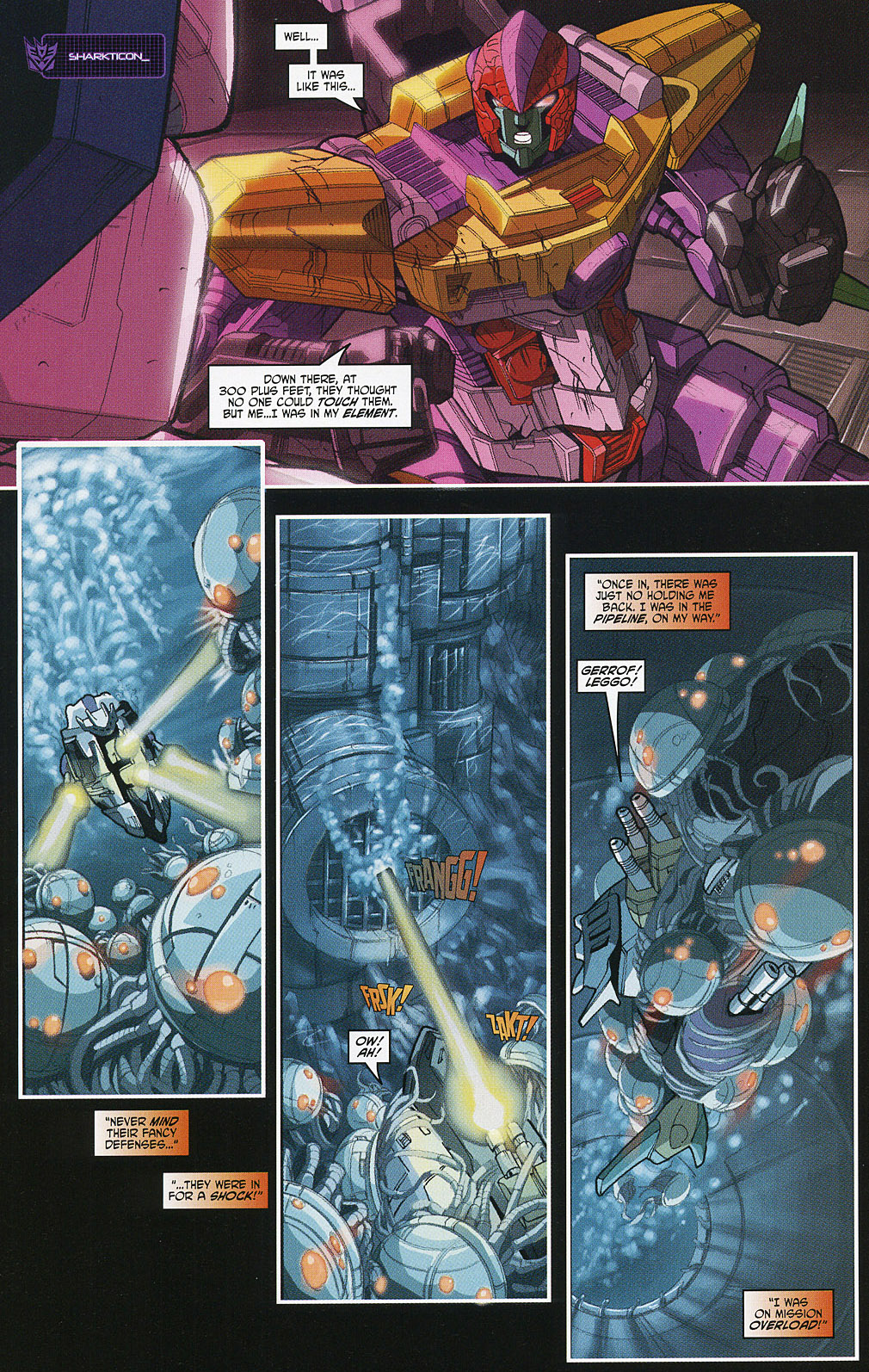 Read online Transformers 20th Anniversary Summer Special comic -  Issue # Full - 18