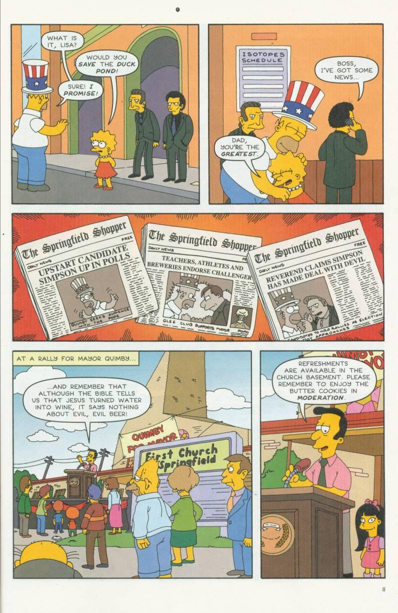 Read online Simpsons Comics comic -  Issue #58 - 12