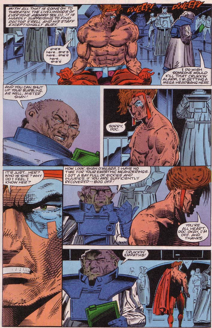 Read online Cyberspace 3000 comic -  Issue #3 - 4