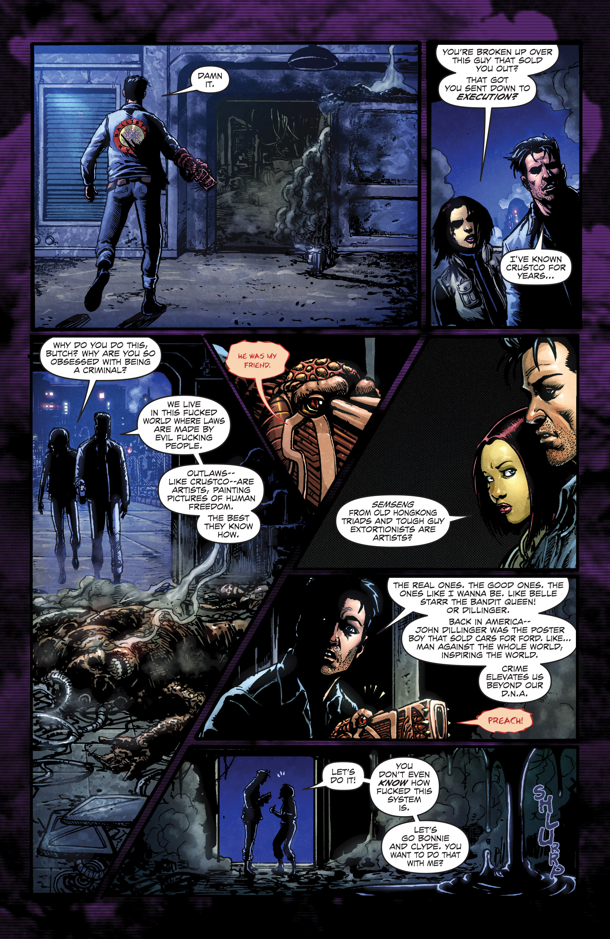 Read online Ballistic (2013) comic -  Issue #3 - 9