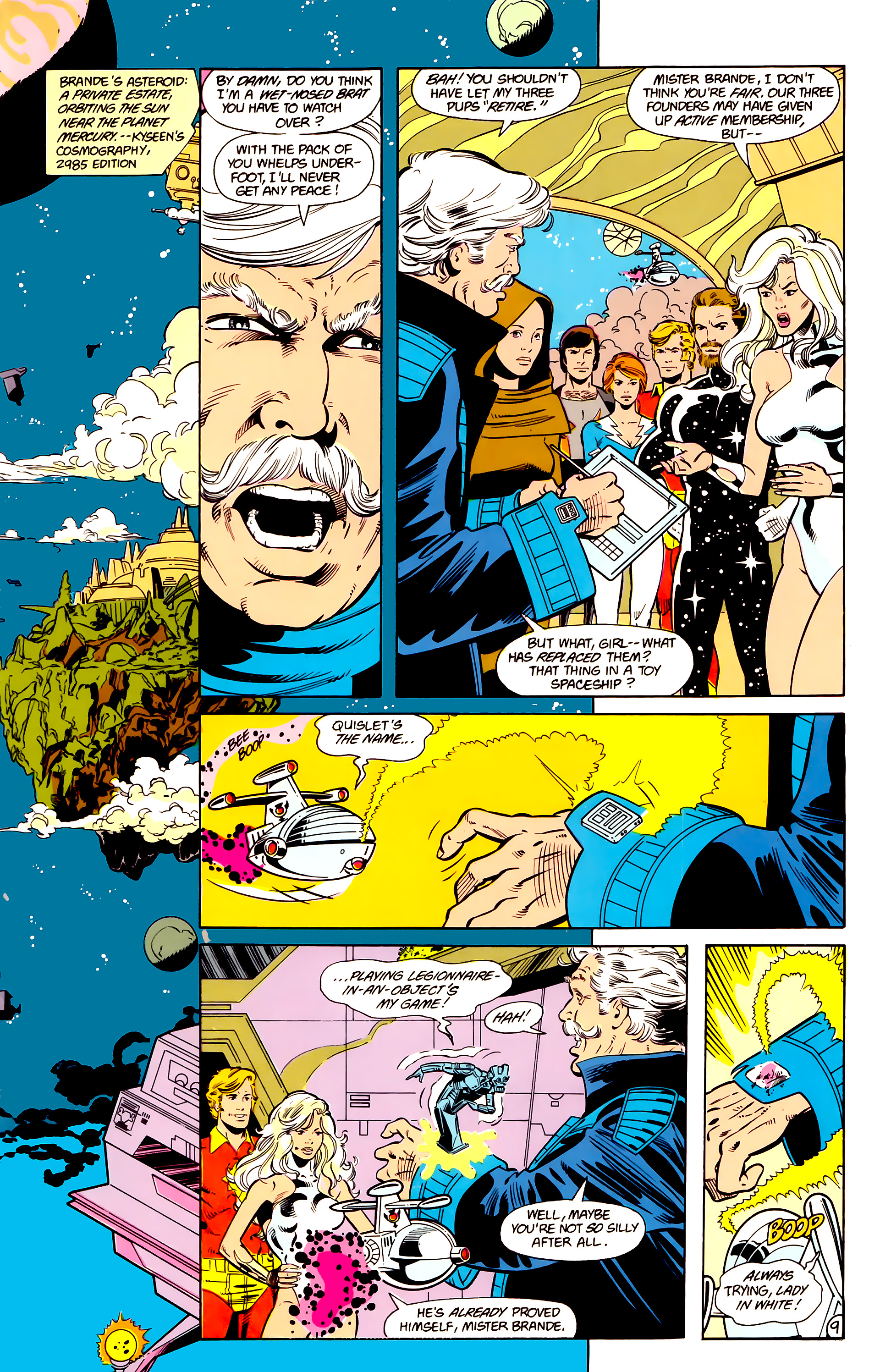 Legion of Super-Heroes (1984) 17 Page 10