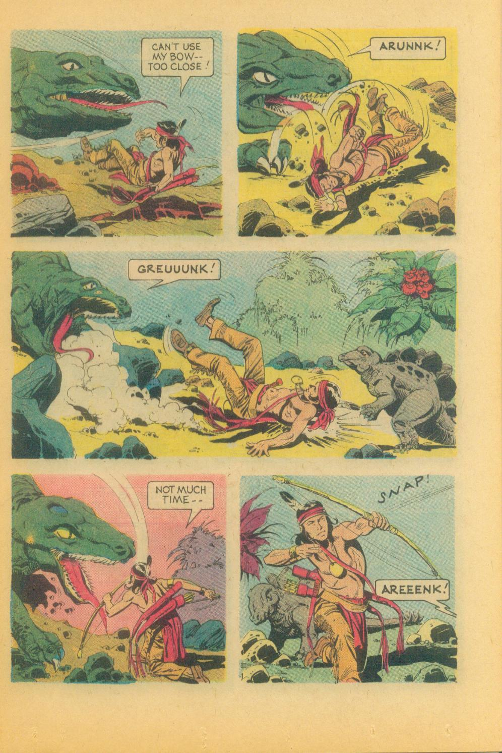 Read online Turok, Son of Stone comic -  Issue #89 - 25