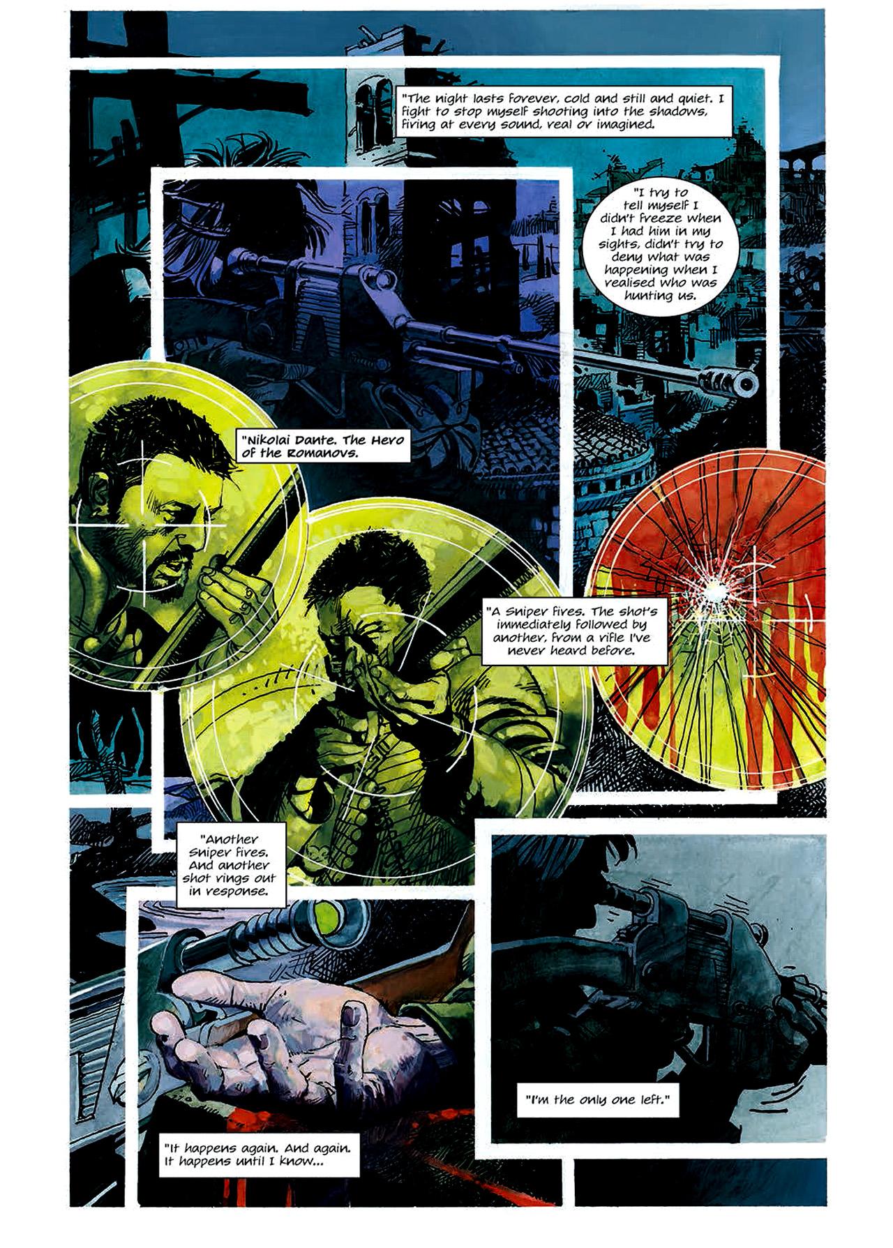 Read online Nikolai Dante comic -  Issue # TPB 4 - 62