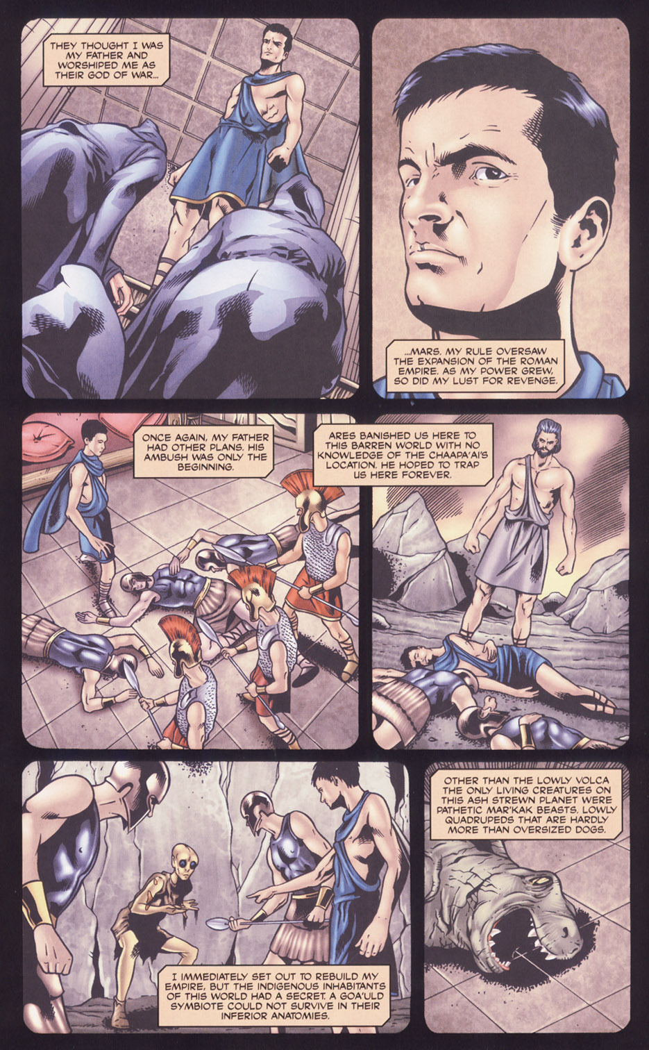 Read online Stargate SG-1: Fall of Rome comic -  Issue #2 - 13