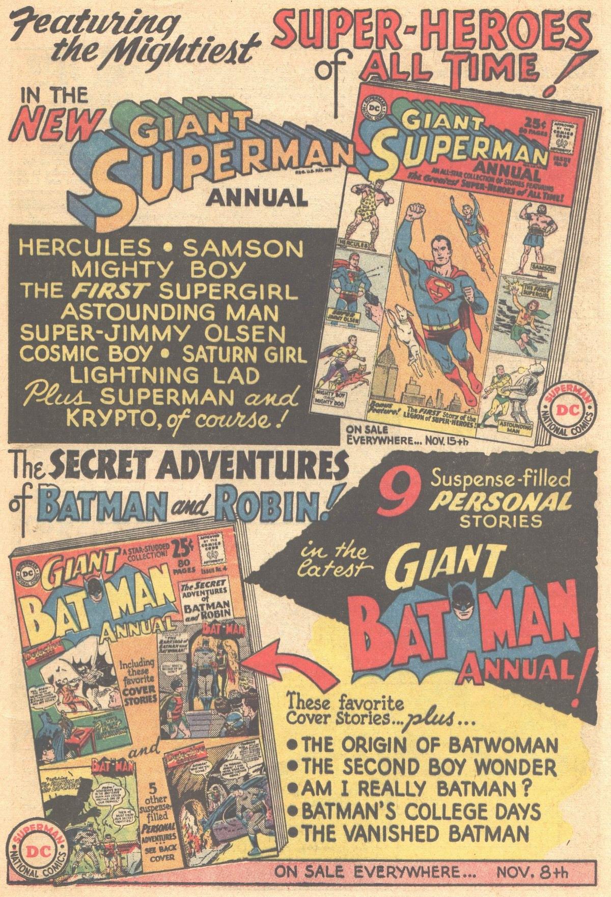 Read online Adventure Comics (1938) comic -  Issue #303 - 33