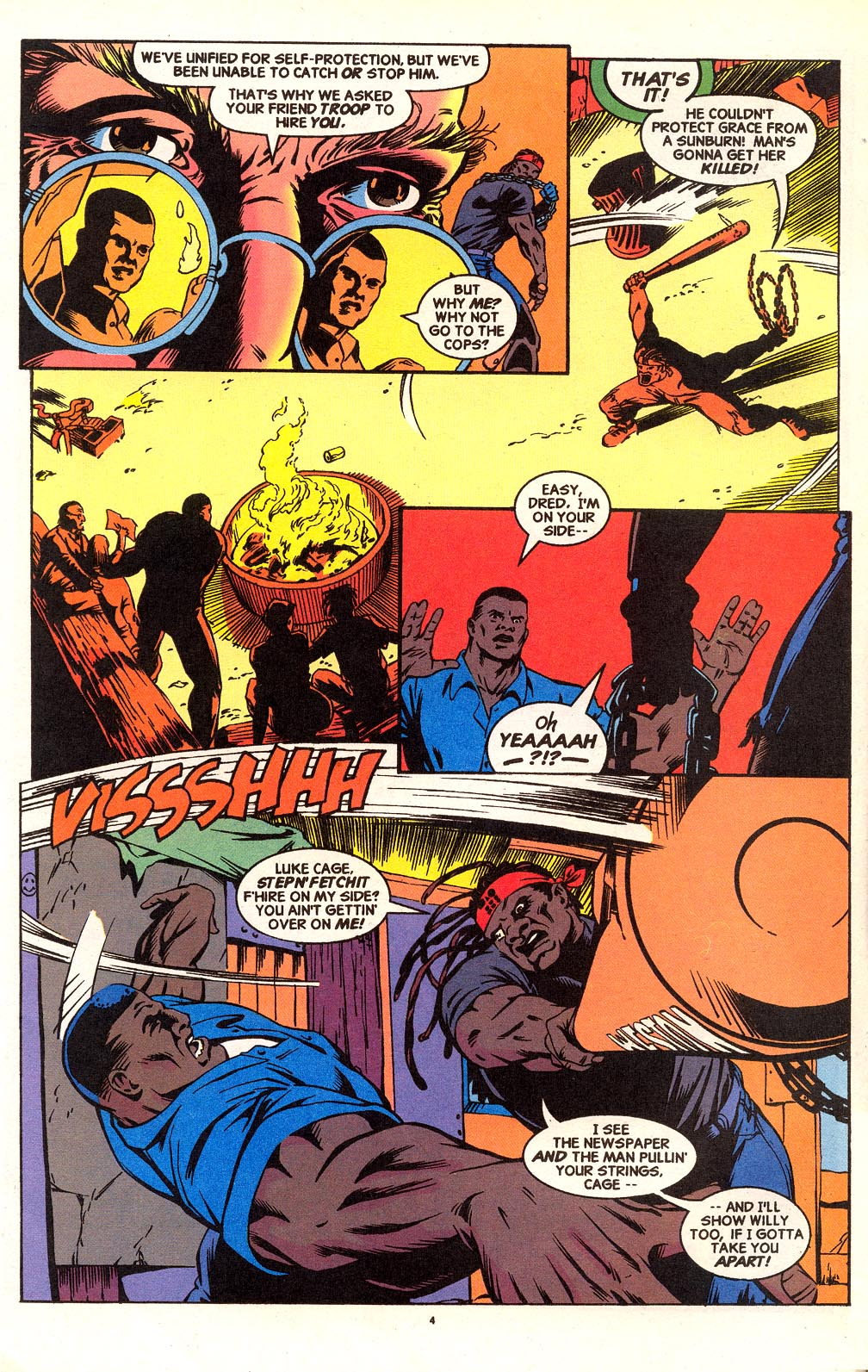 Cage (1992) issue 18 - Page 5