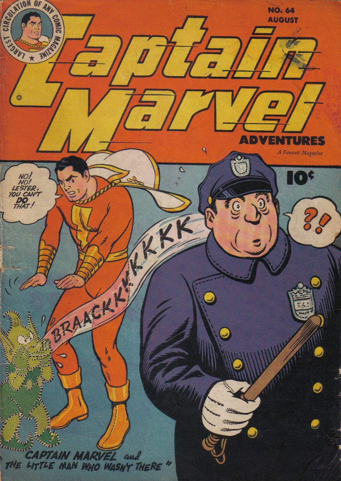 Captain Marvel Adventures issue 64 - Page 1