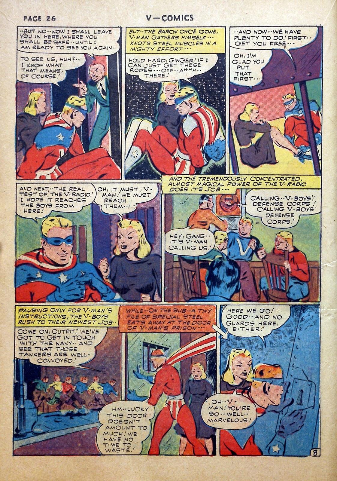 Read online V...- Comics comic -  Issue #2 - 27