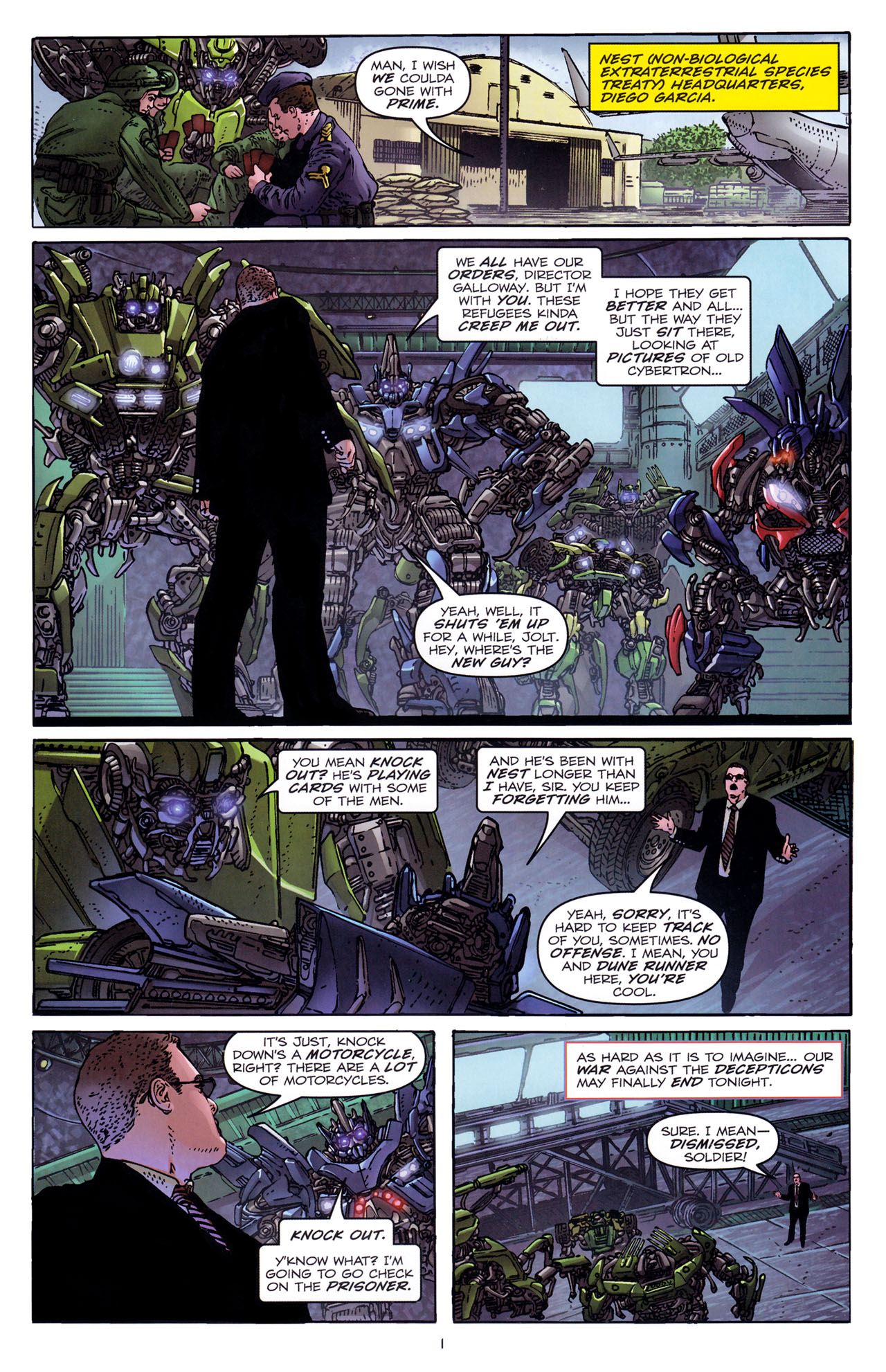 Read online Transformers: Dark of the Moon Rising Storm comic -  Issue #3 - 4