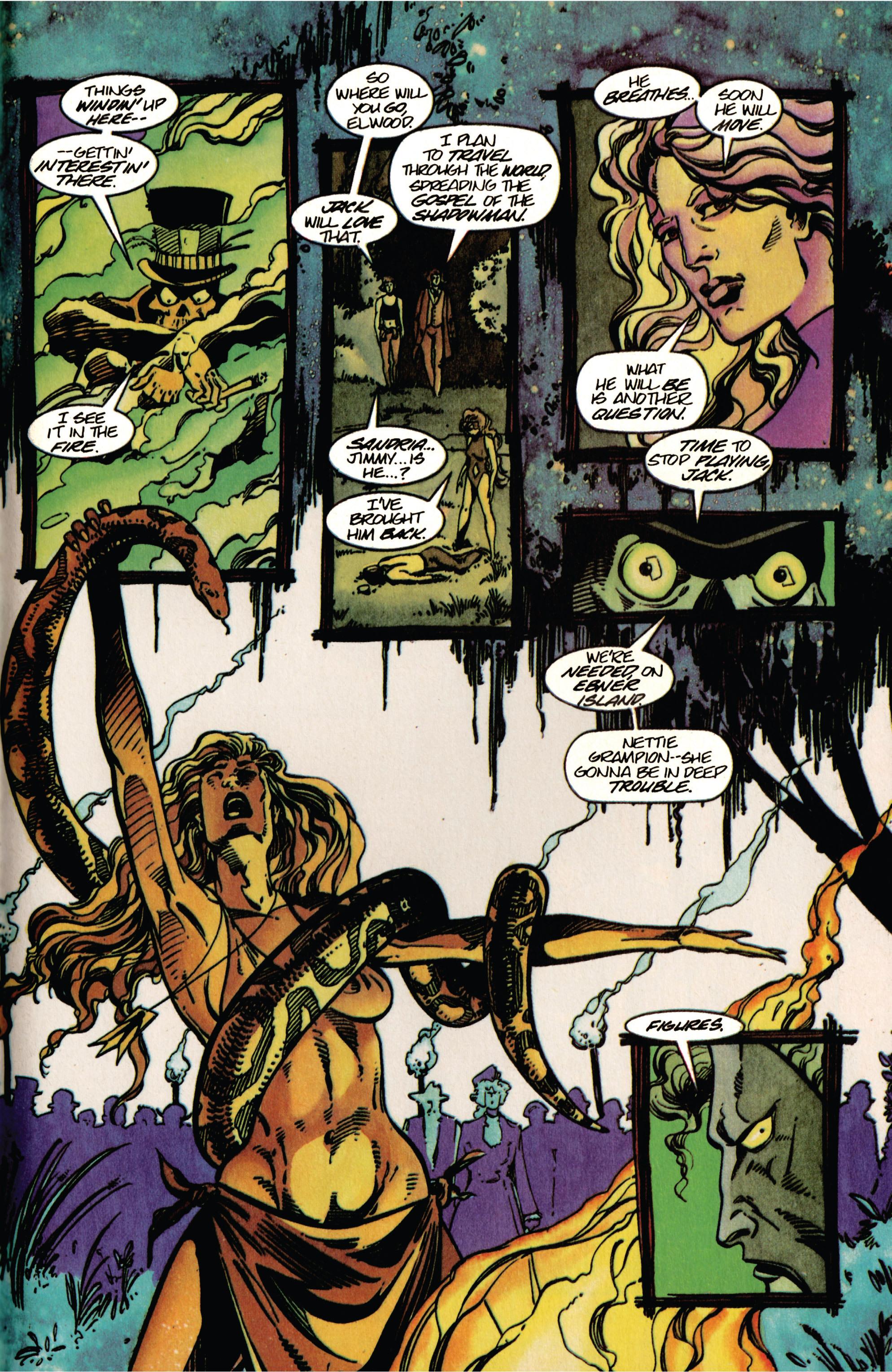 Read online Shadowman (1992) comic -  Issue #33 - 17