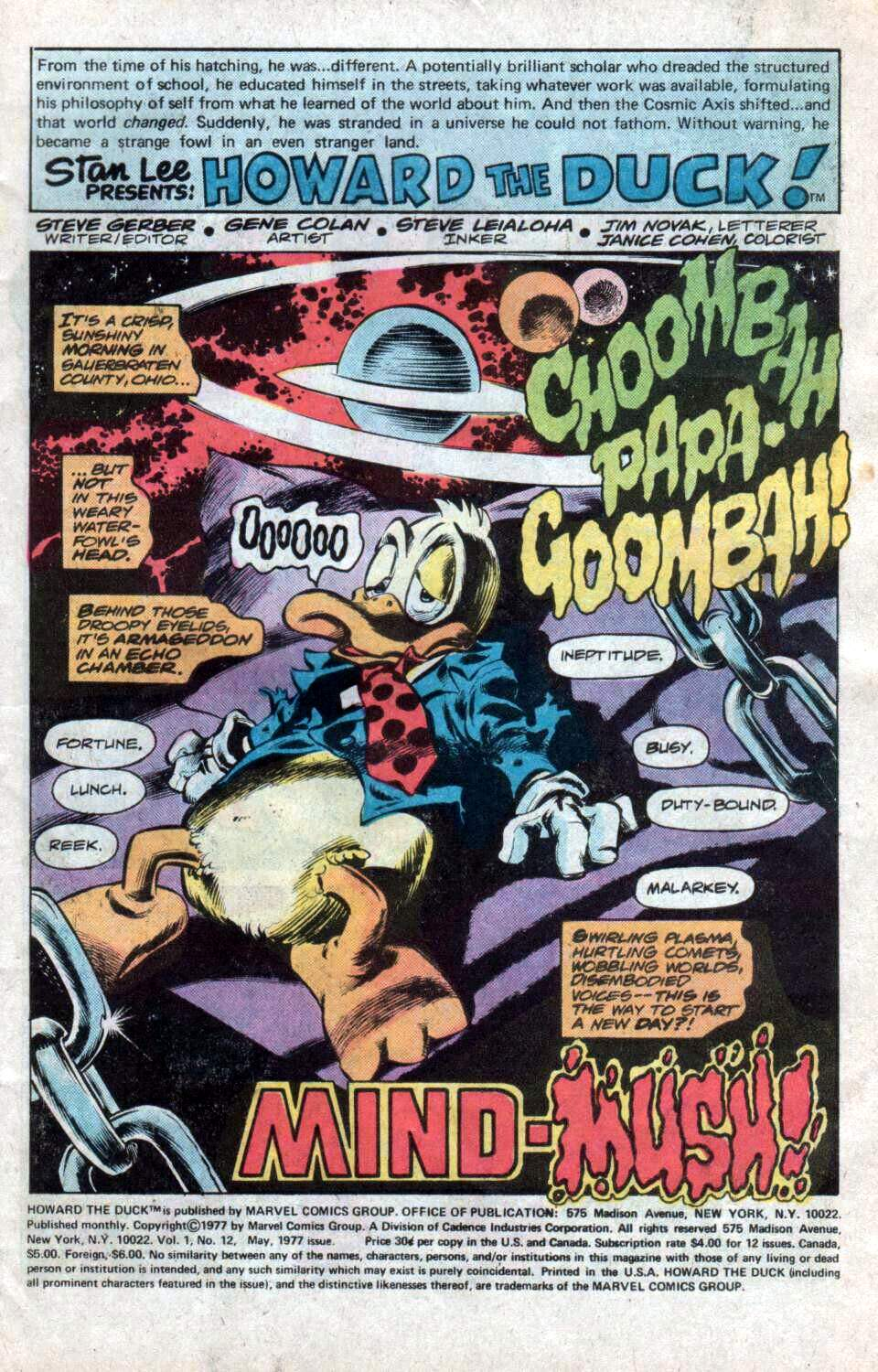 Howard the Duck (1976) Issue #12 #13 - English 2