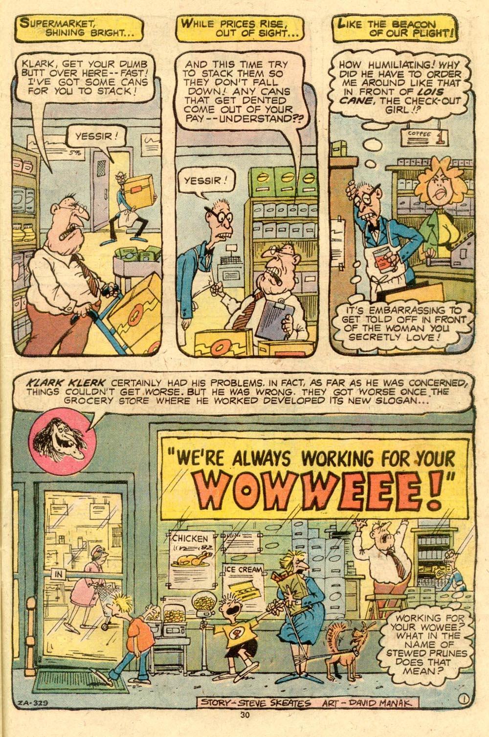 Read online Plop! comic -  Issue #8 - 31