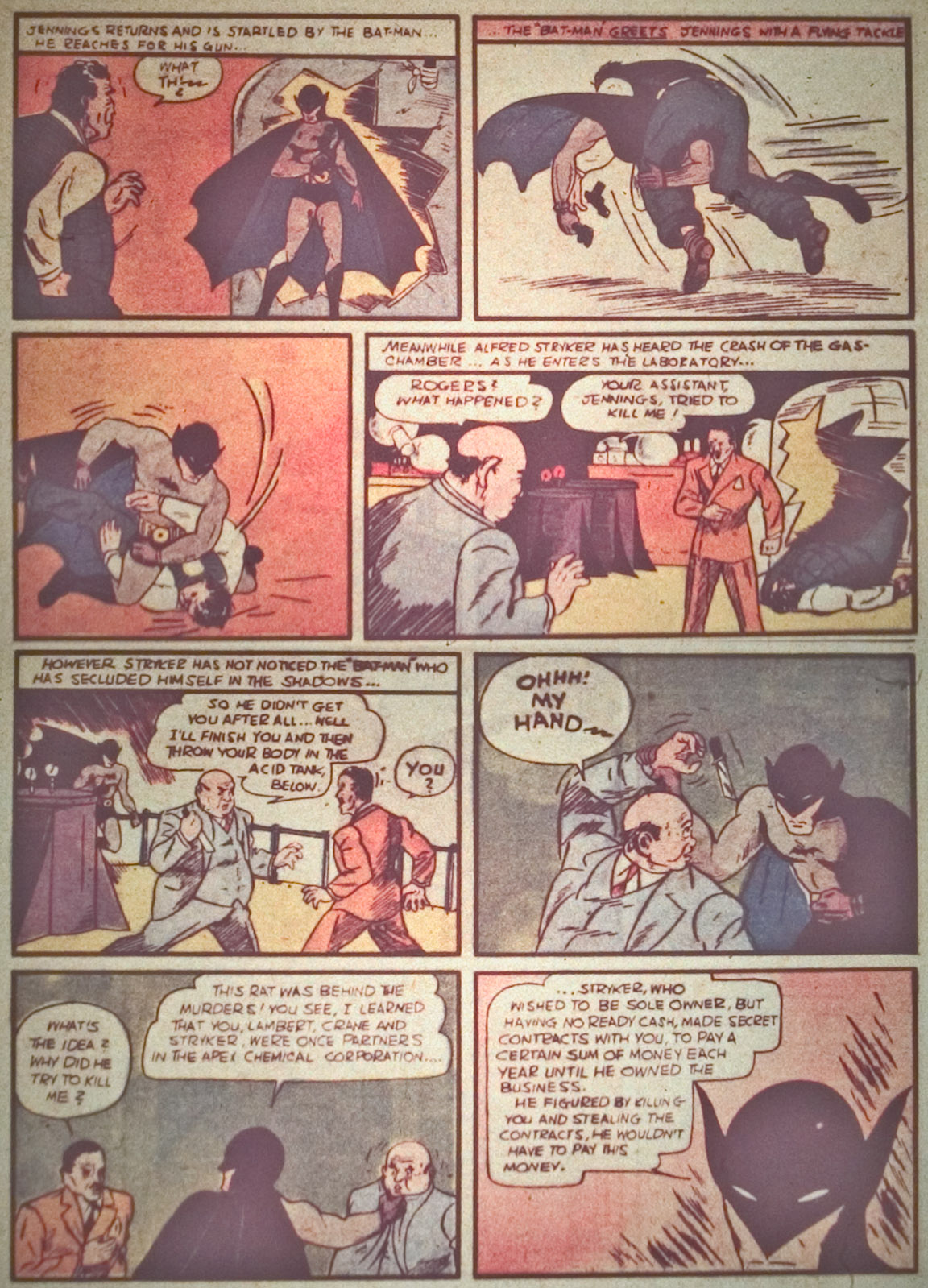 Read online Detective Comics (1937) comic -  Issue #27 - 8