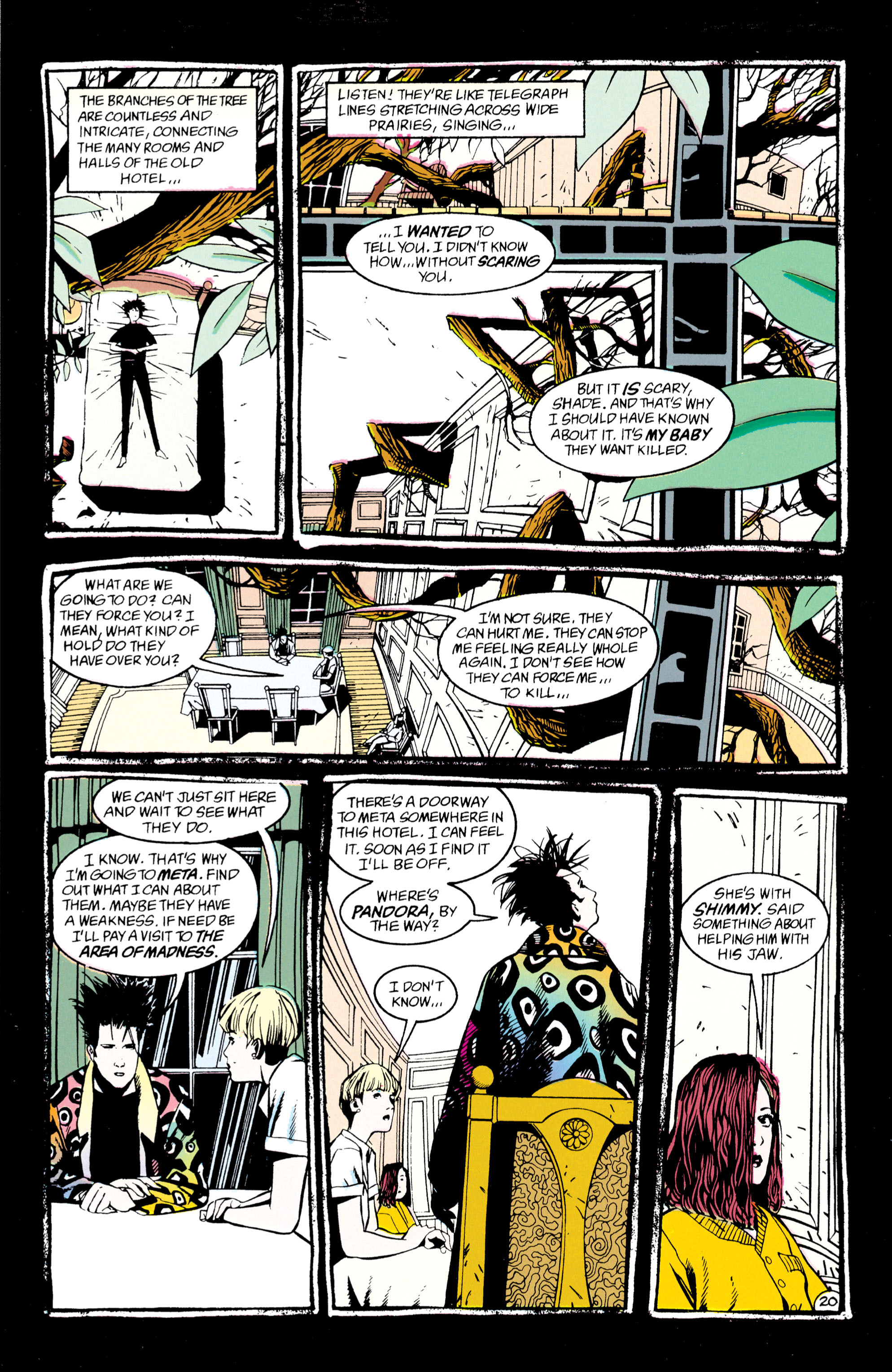 Read online Shade, the Changing Man comic -  Issue #47 - 21