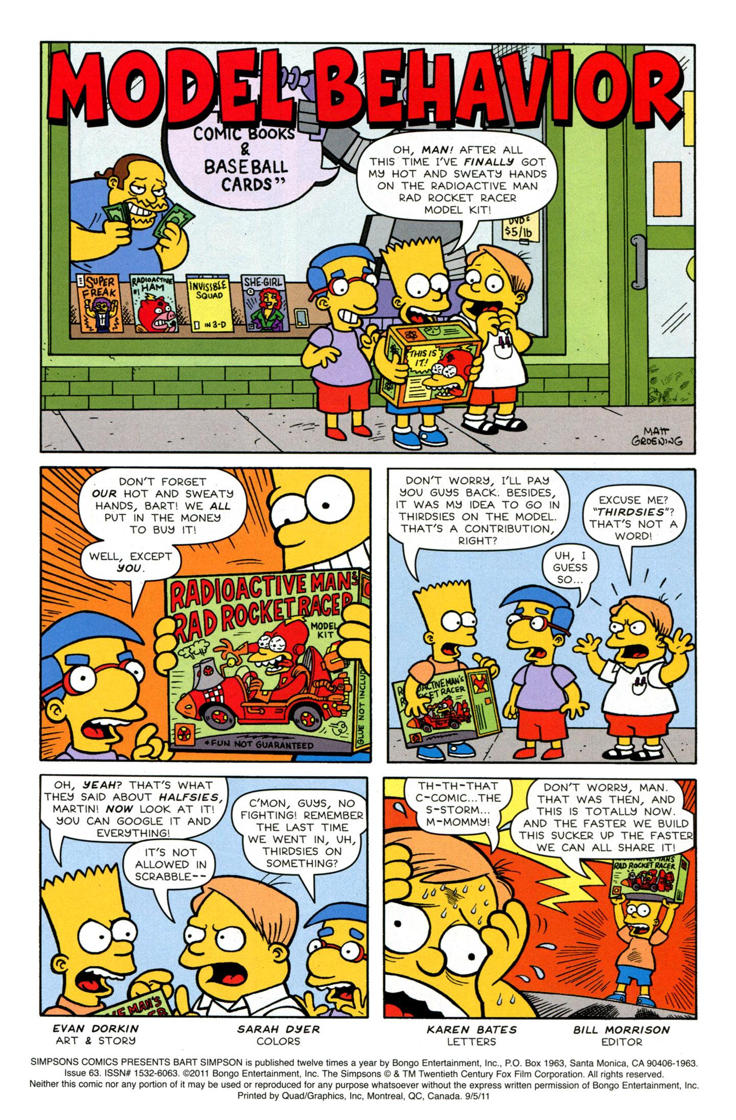 Read online Simpsons Comics Presents Bart Simpson comic -  Issue #63 - 3
