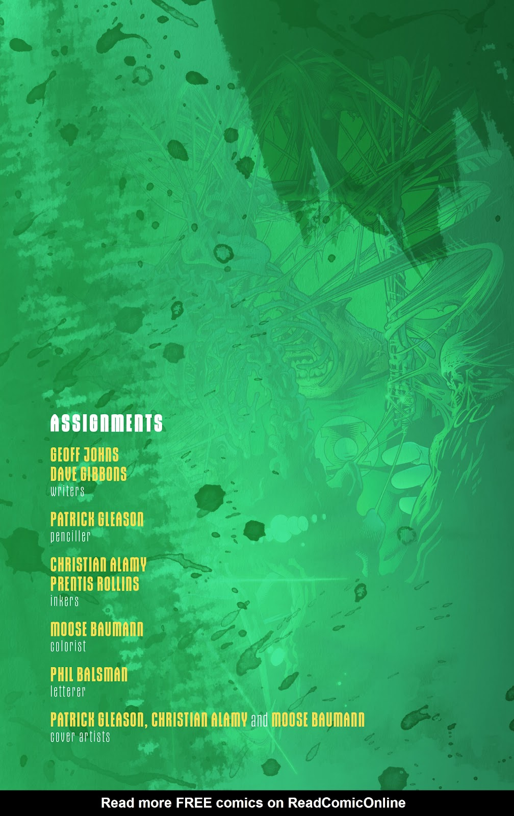 Read online Green Lantern by Geoff Johns comic -  Issue # TPB 1 (Part 3) - 6