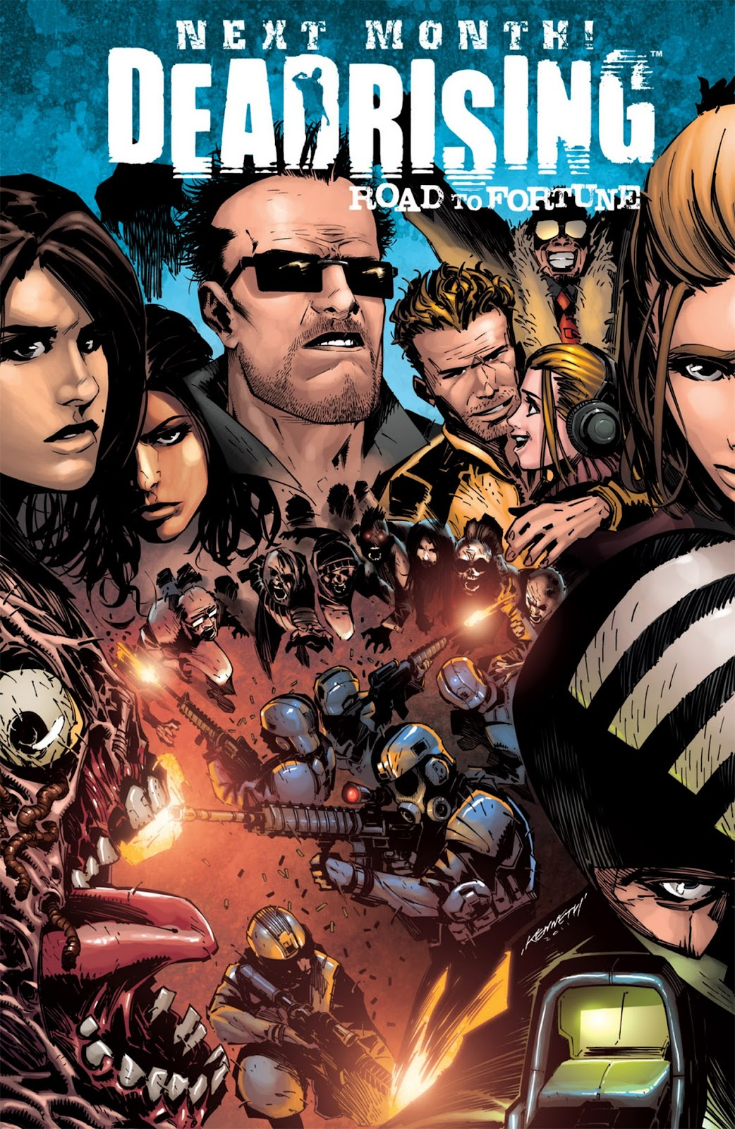 Read online Dead Rising: Road to Fortune comic -  Issue #1 - 26
