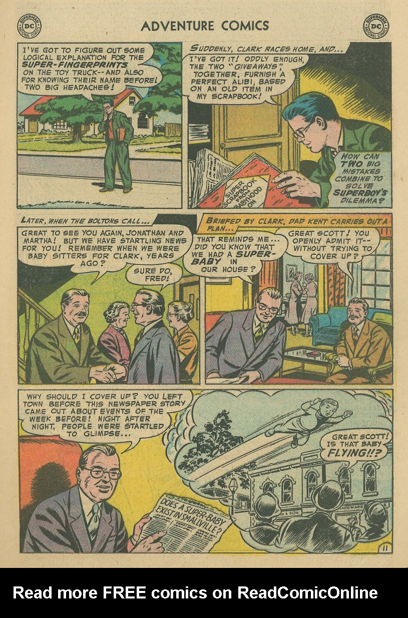 Read online Adventure Comics (1938) comic -  Issue #221 - 12