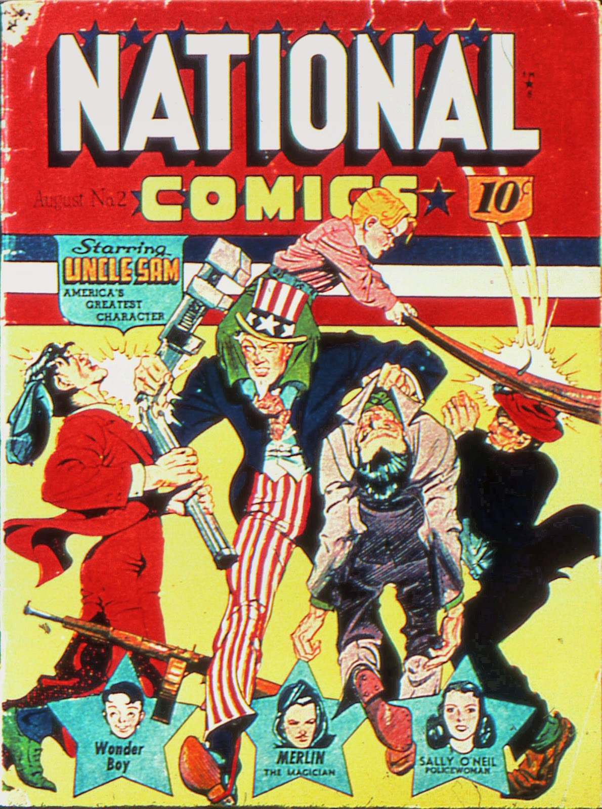 National Comics (1940) issue 2 - Page 1