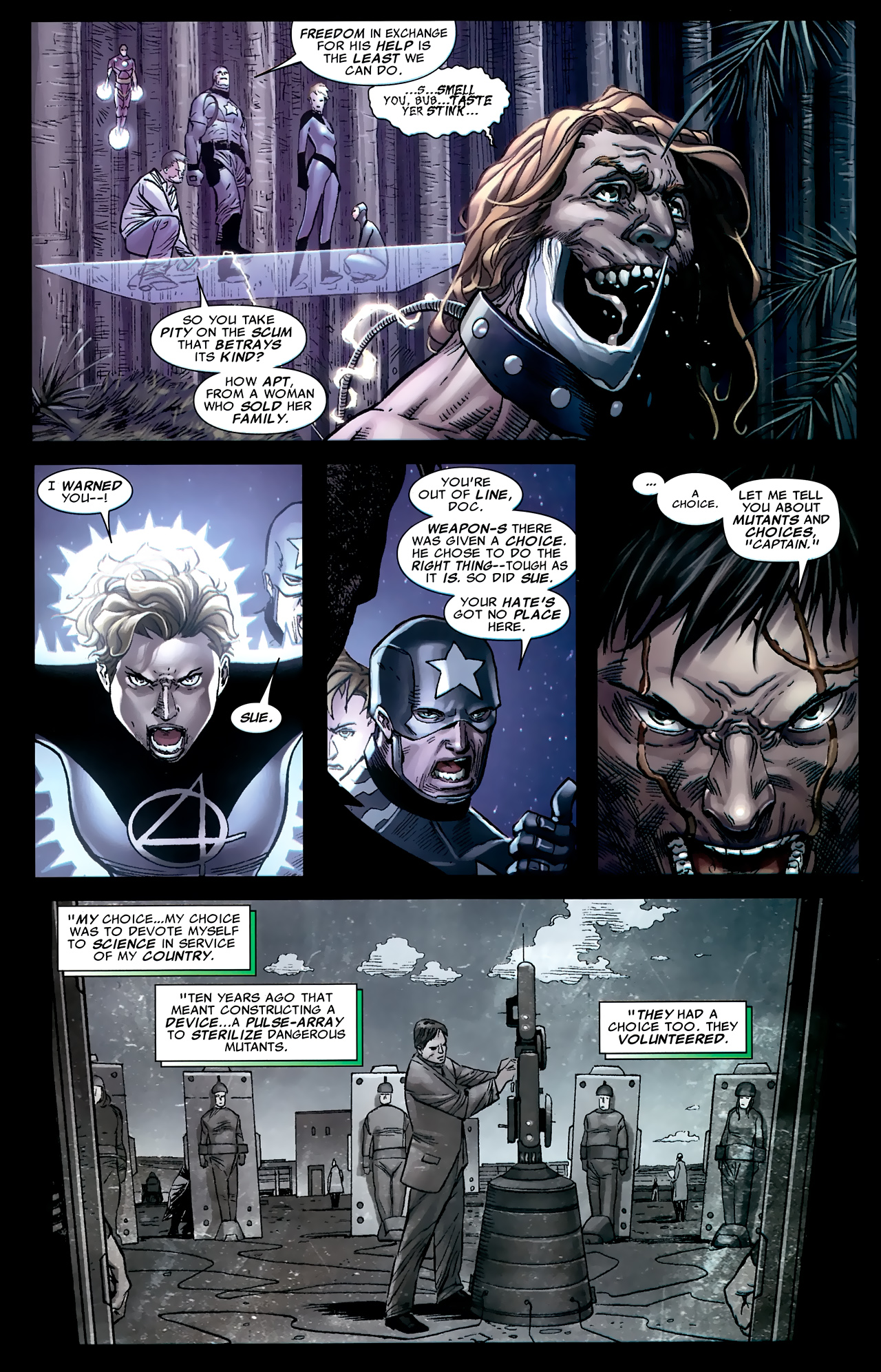Read online Age of X: Universe comic -  Issue #1 - 18