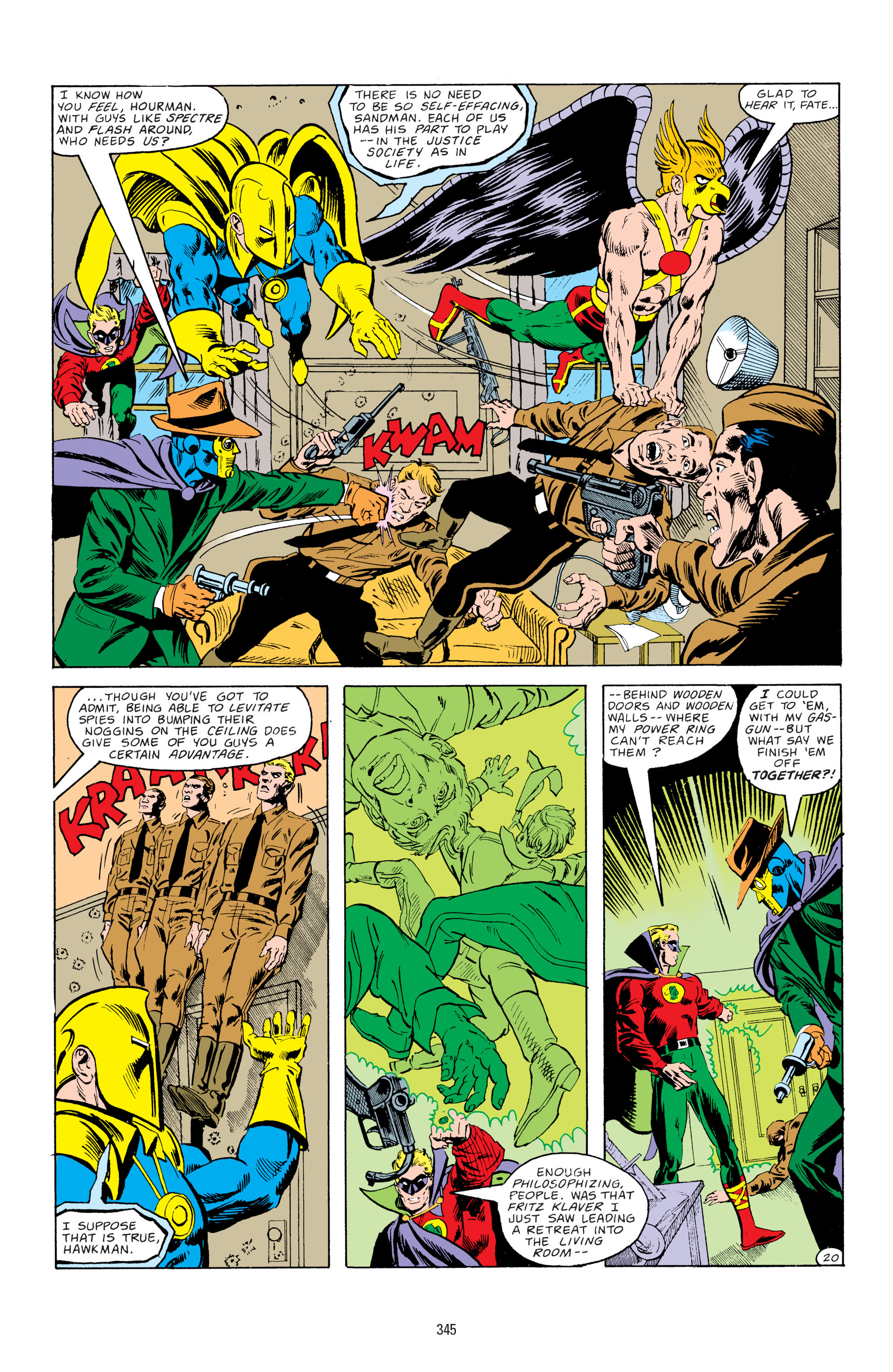 Read online All-Star Squadron comic -  Issue #67 - 21