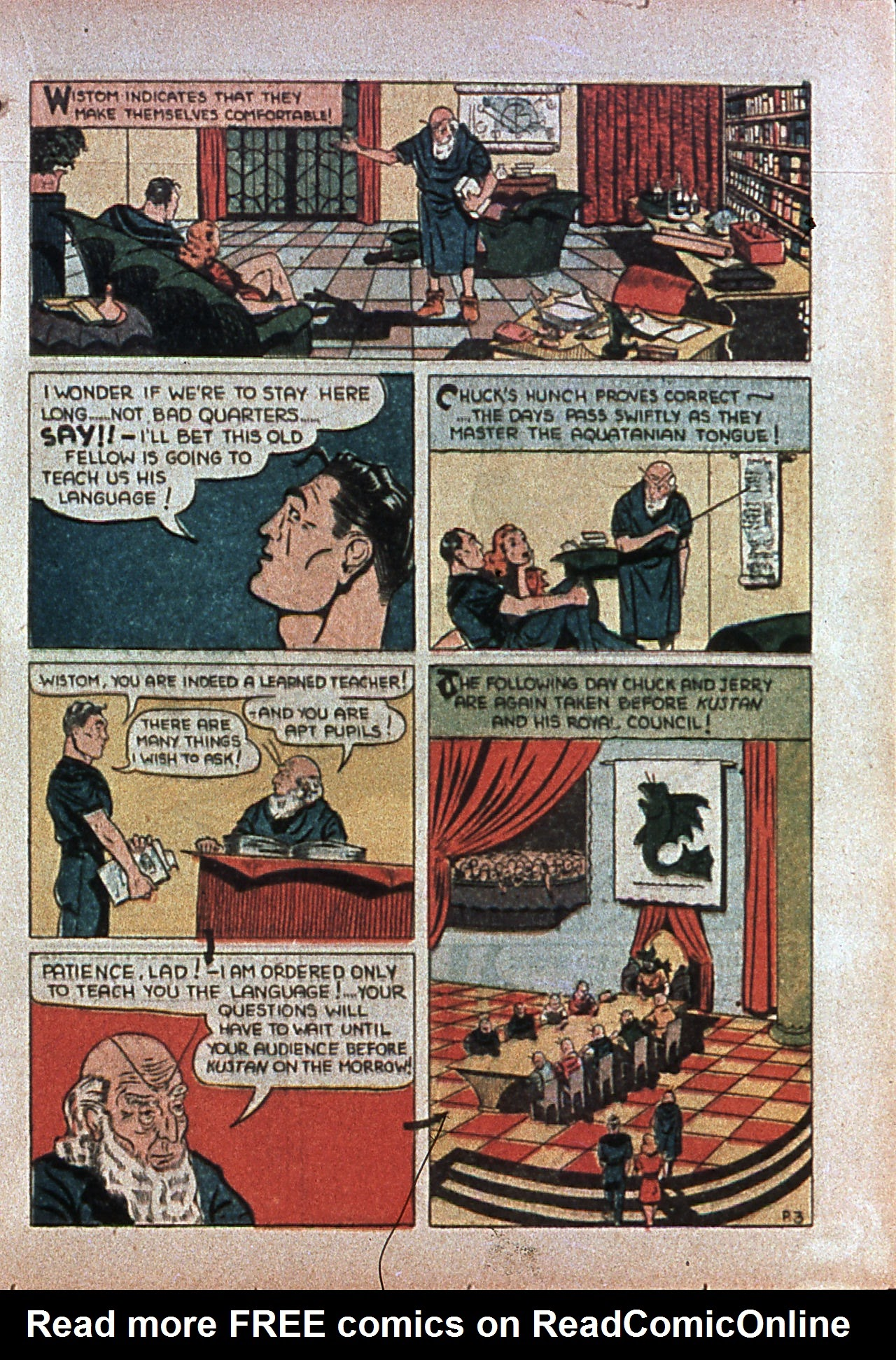 Read online Amazing Man Comics comic -  Issue #7 - 48
