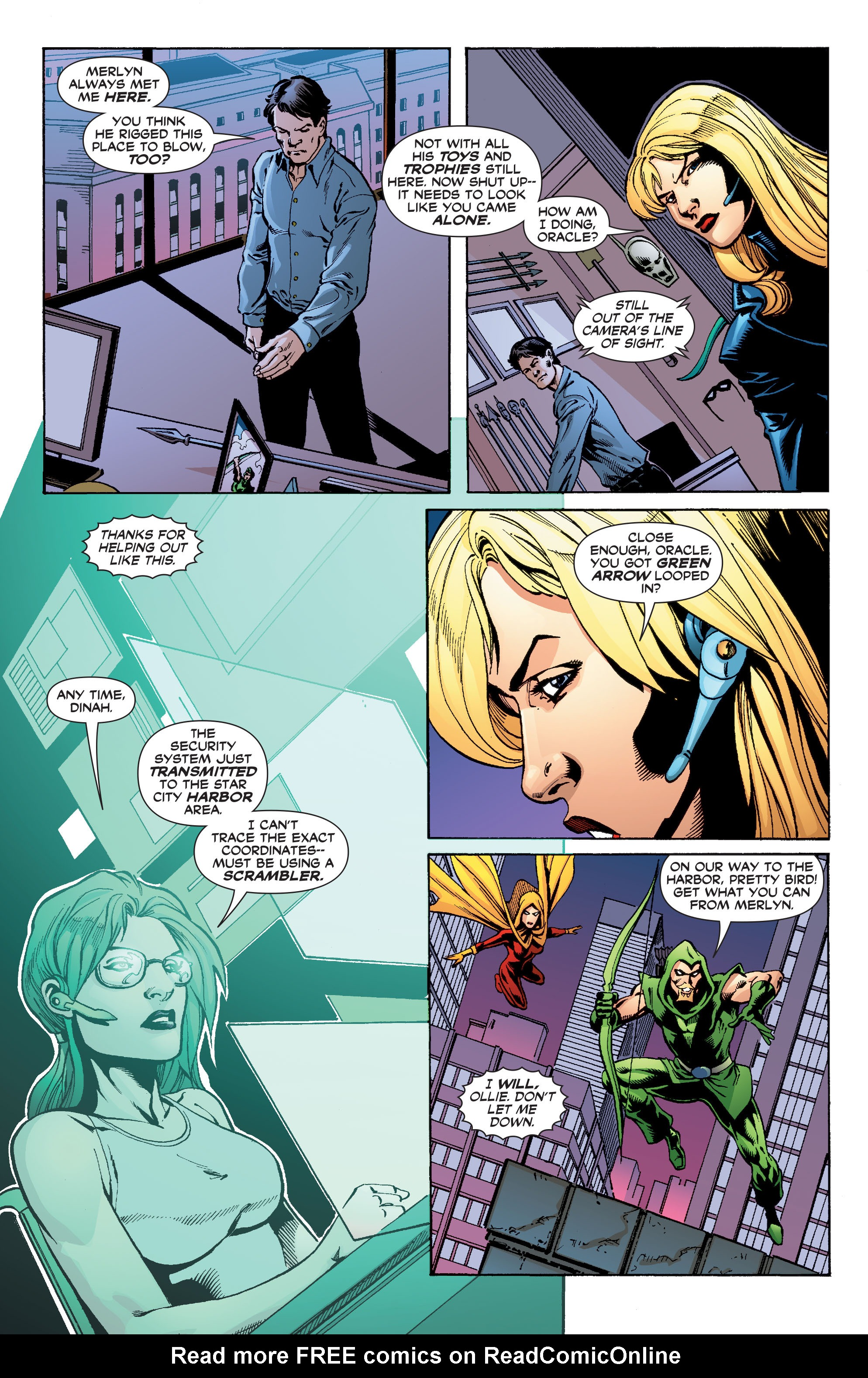 Read online Black Canary (2007) comic -  Issue #3 - 12