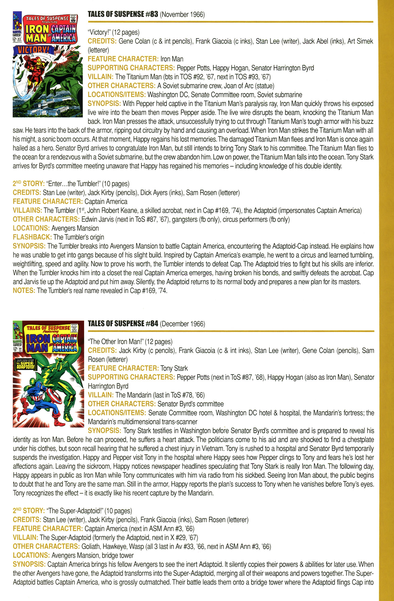 Read online Official Index to the Marvel Universe comic -  Issue #2 - 29