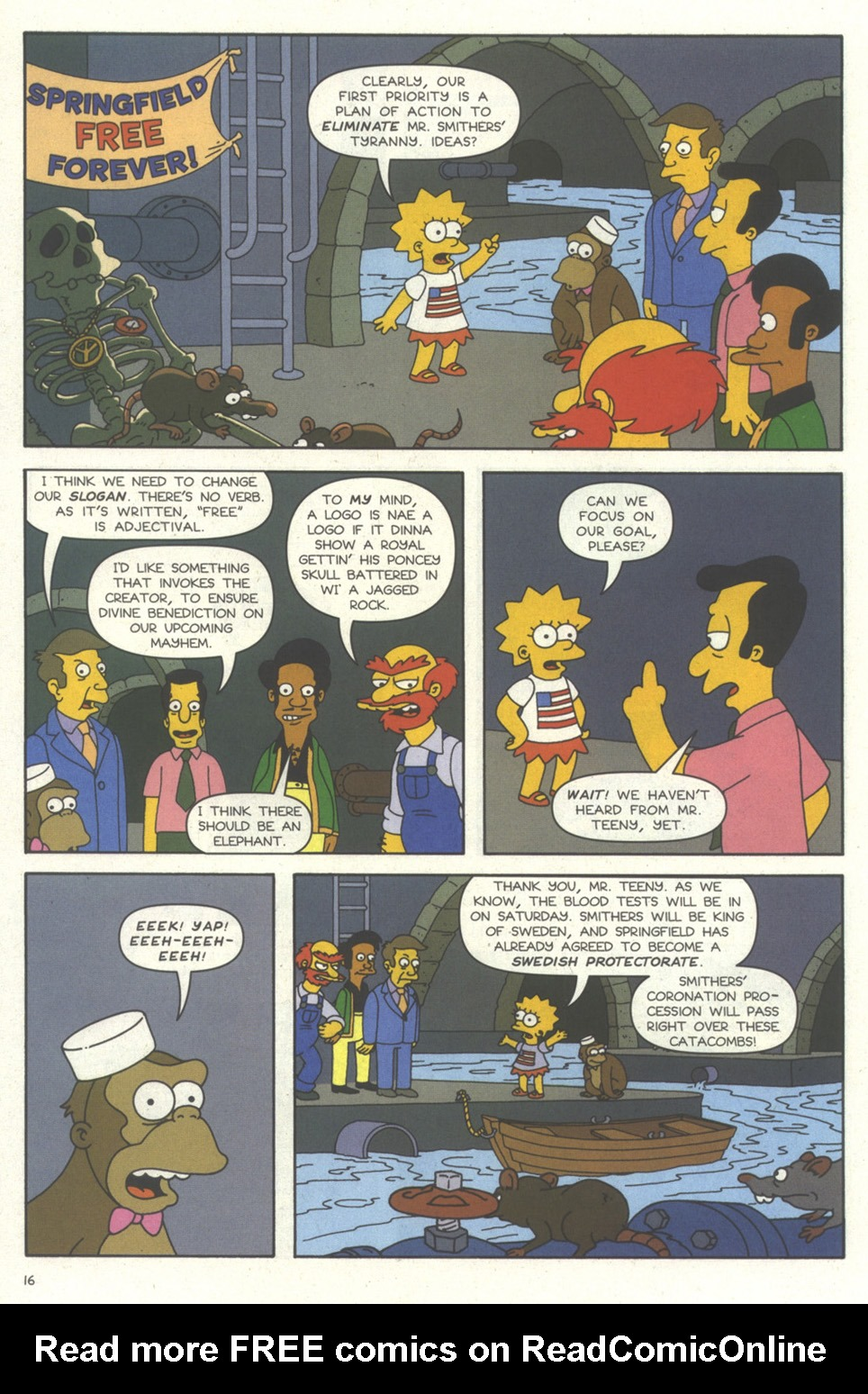 Read online Simpsons Comics comic -  Issue #56 - 17